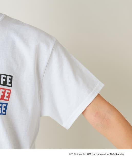 "SHENERY(シーナリー) 【WEB限定】""LIFE"" フォトTee02"