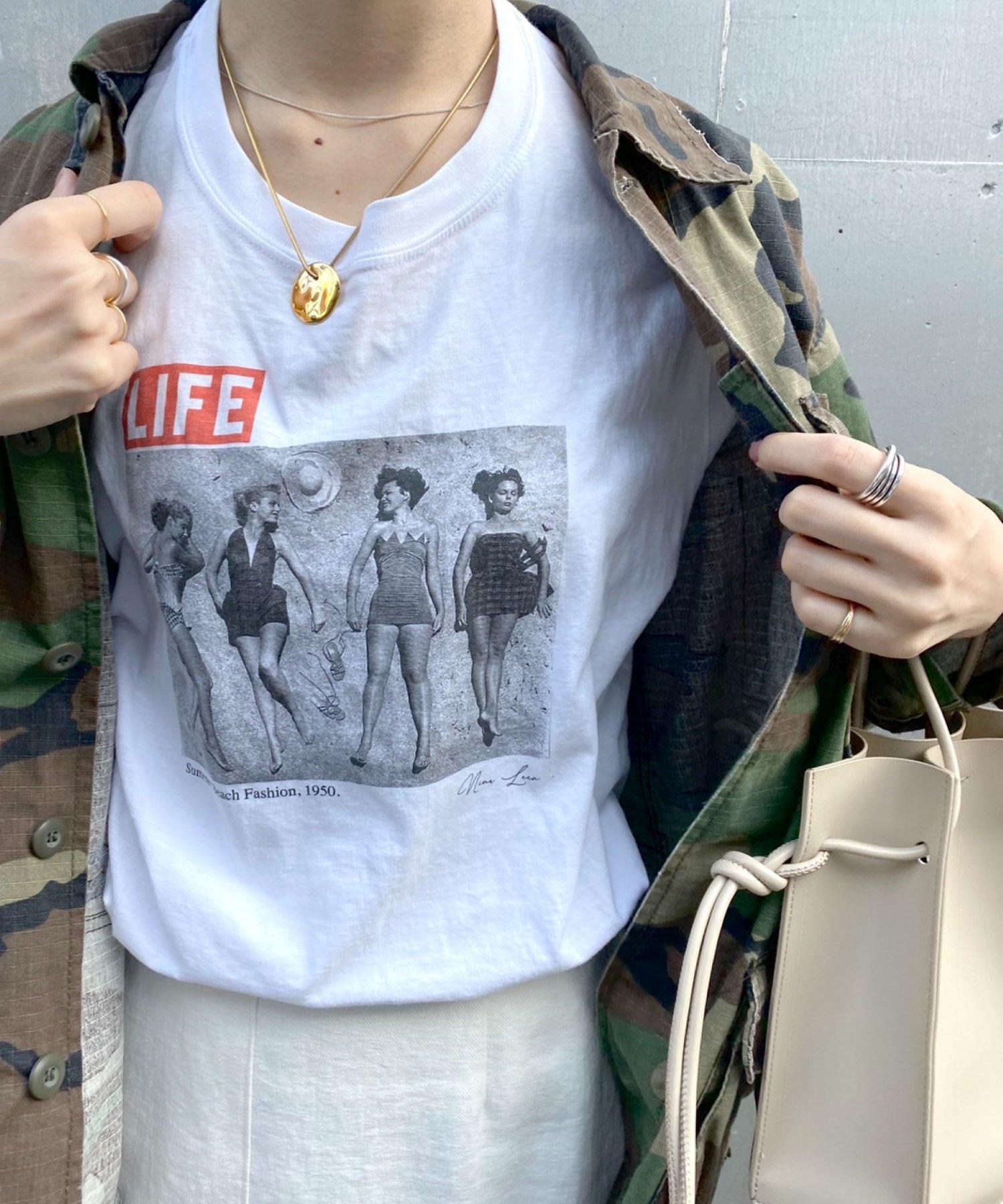 "SHENERY(シーナリー) 【WEB限定】""LIFE"" Tee05"