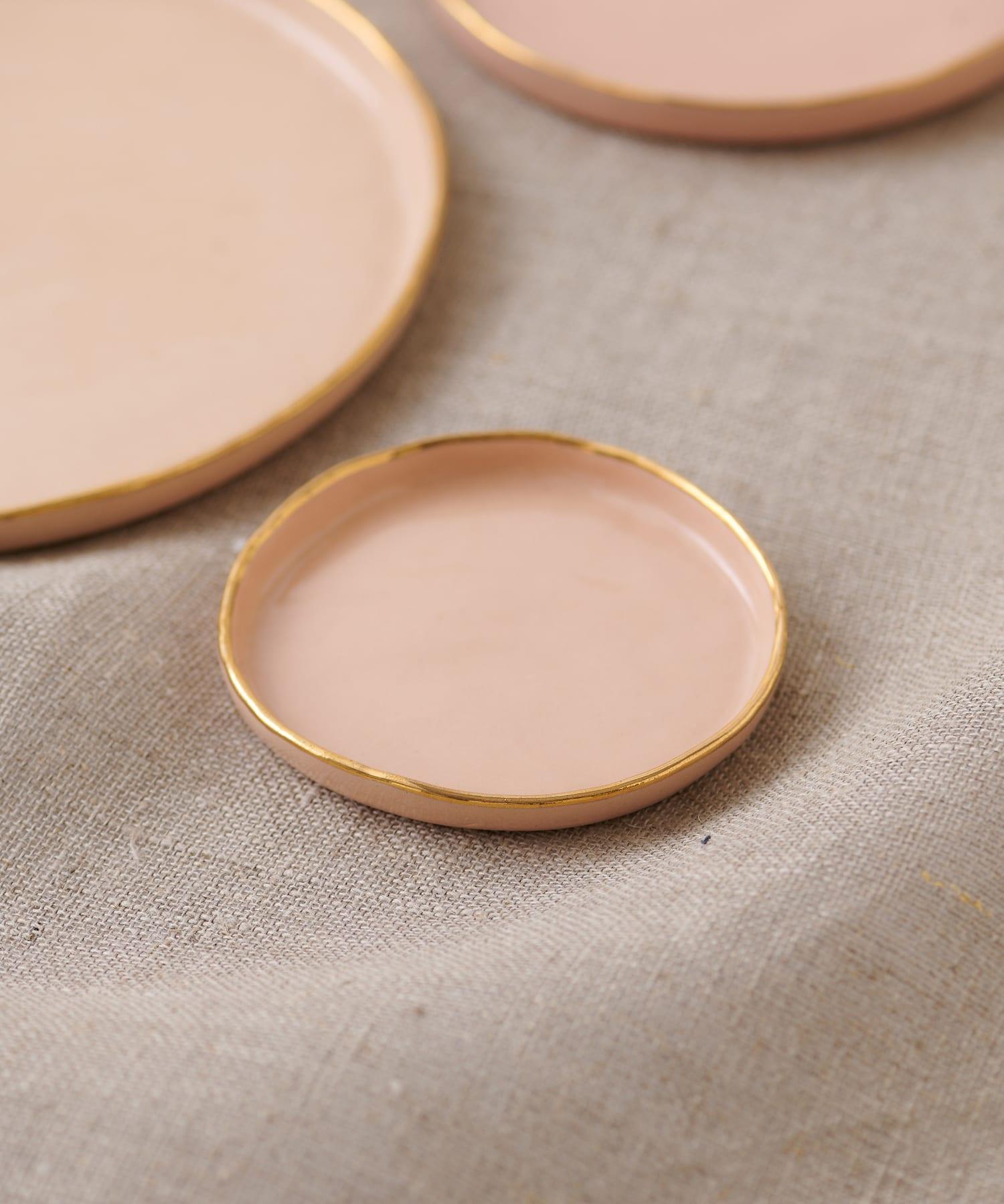 Whim Gazette(ウィム ガゼット) ライフスタイル 【ucacoceramics】plate(bonbon) ピンク