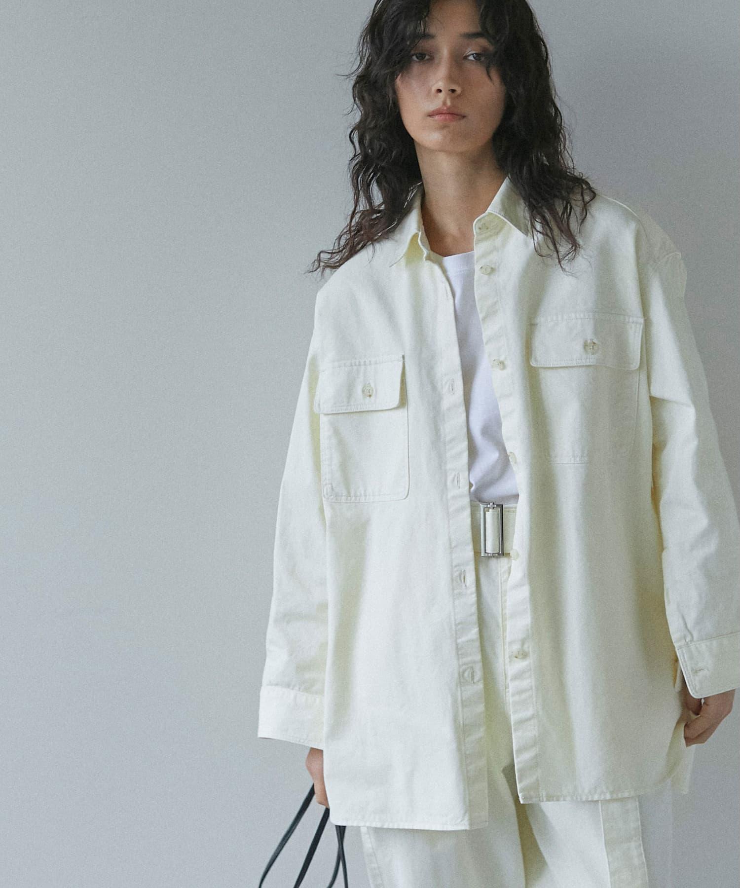 GALLARDAGALANTE(ガリャルダガランテ) ワークシャツジャケット