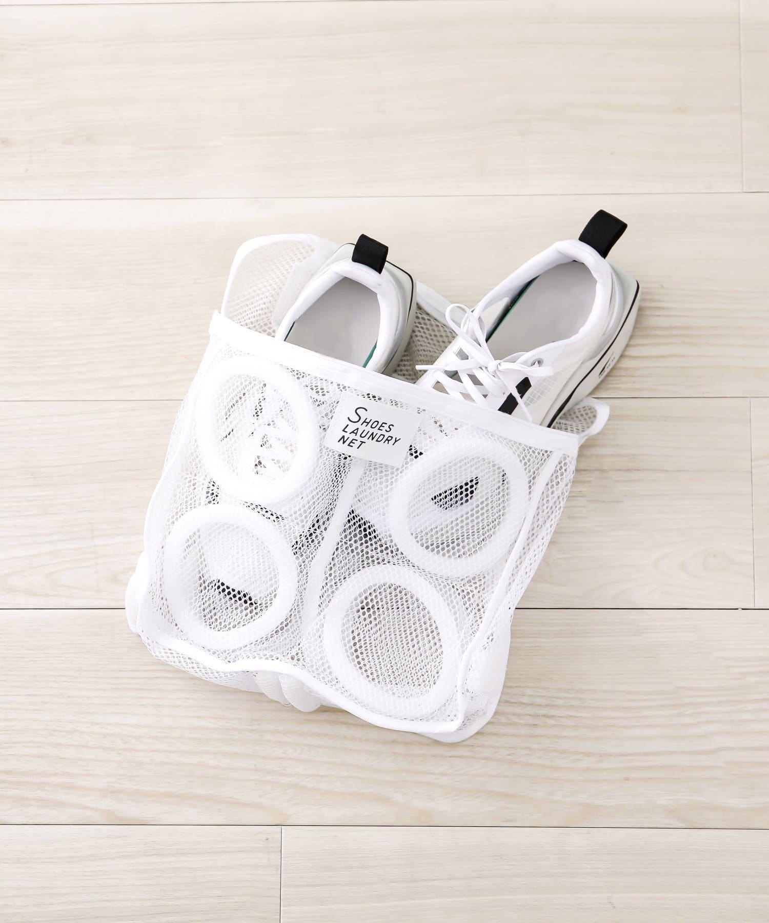 3COINS(スリーコインズ) 【お洗濯をより快適に】シューズランドリーネット