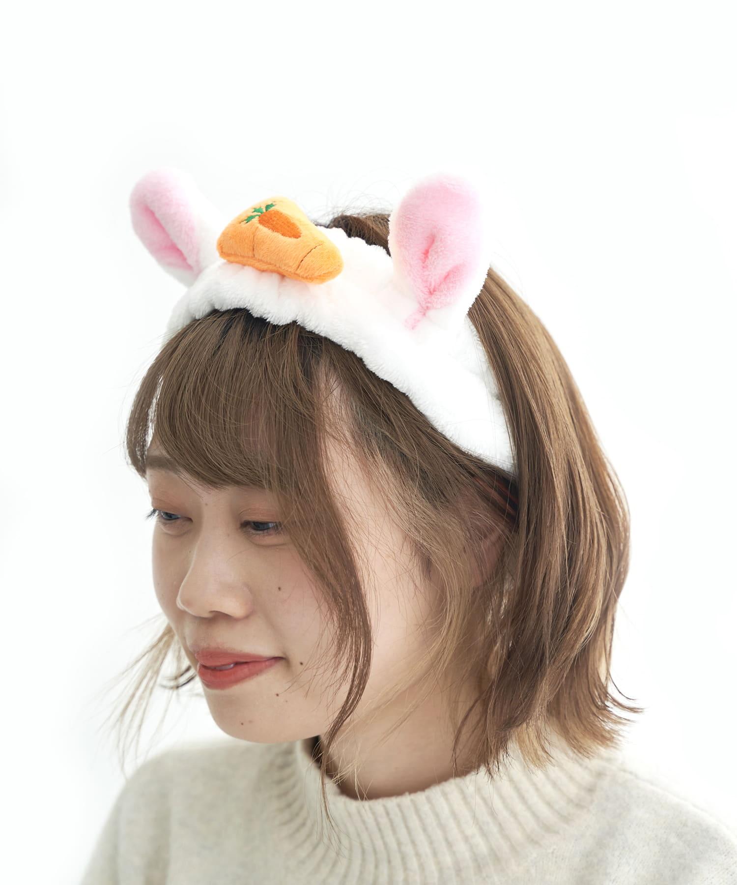 3COINS(スリーコインズ) 【ASOKO】ウサギになりたい!ヘアターバン