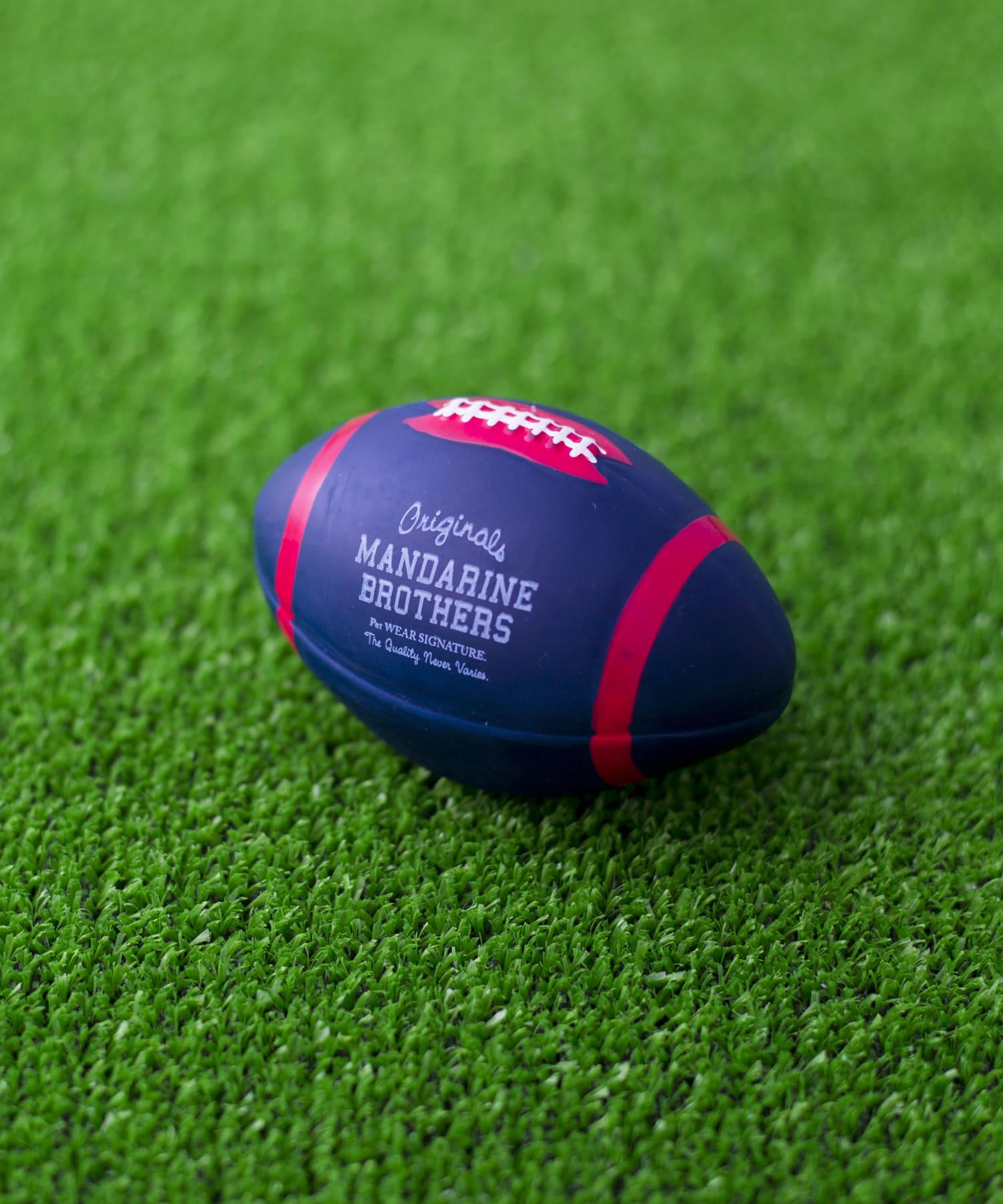 prose verse(プロズヴェール) prose verse(プロズヴェール) 【MANDARINE BROTHERS】ラテックスアメリカンフットボールトイ ネイビー