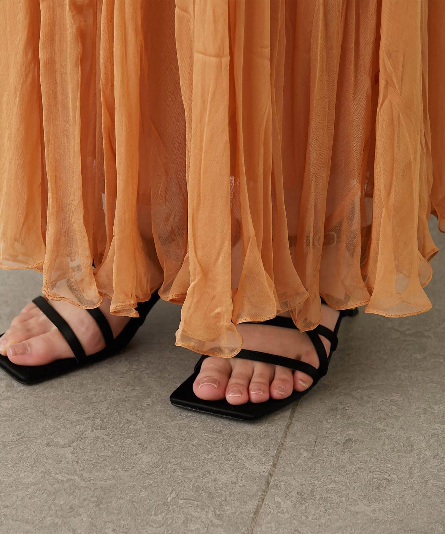 GALLARDAGALANTE(ガリャルダガランテ) 【Mes Demoiselles】ロングスカート/JAMIE