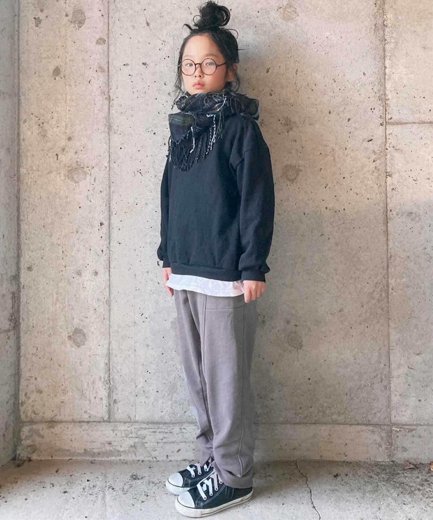 CIAOPANIC TYPY(チャオパニックティピー) キッズ 【KIDS】フェードカラー スウェットパンツ チャコールグレー