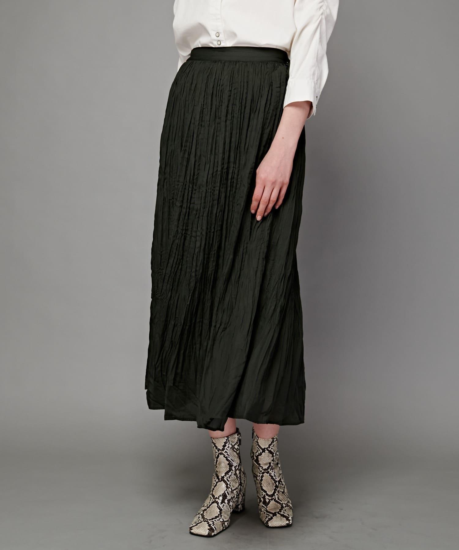 CIAOPANIC(チャオパニック) ギャザープリーツロングスカート