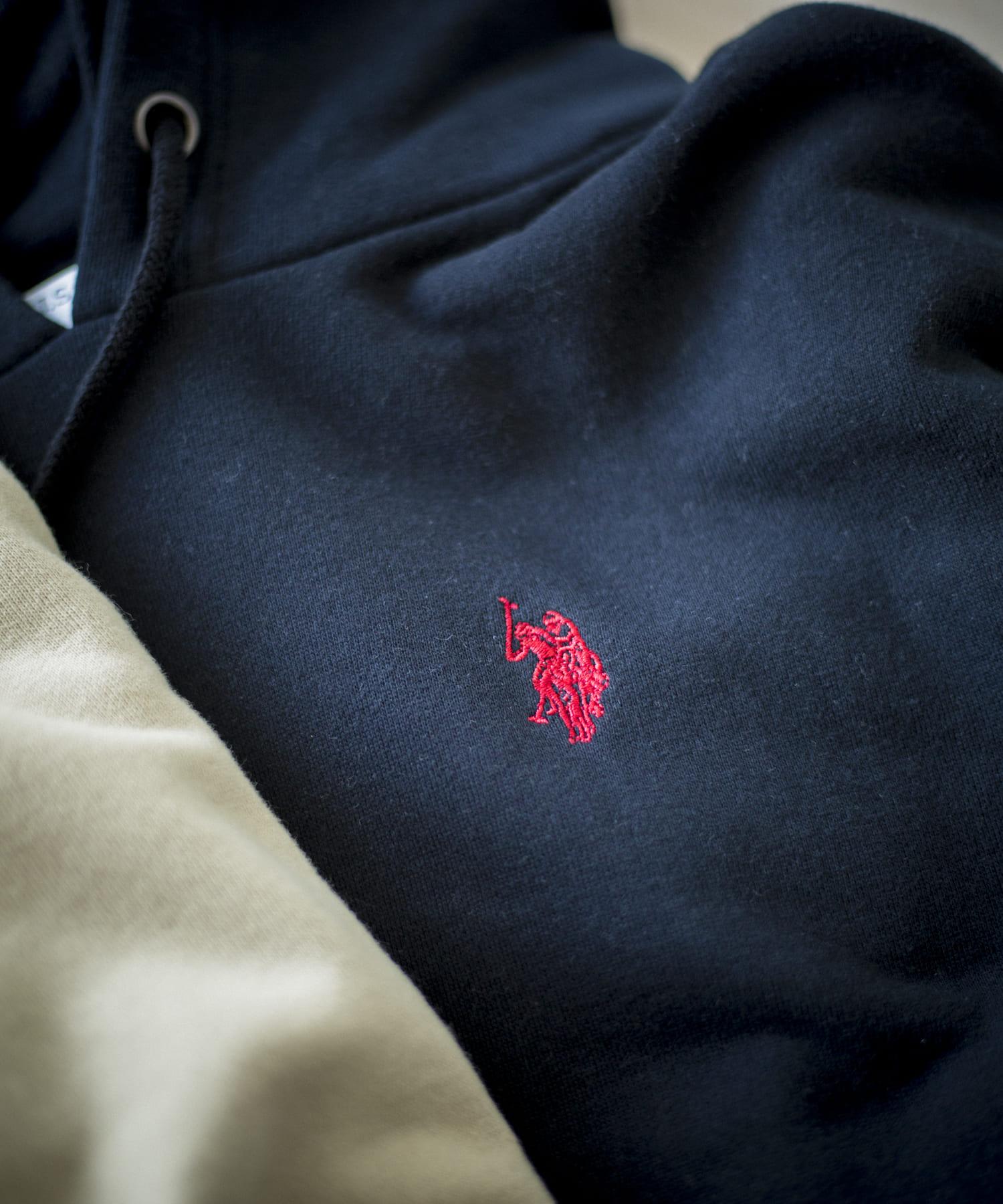 CPCM(シーピーシーエム) 【再入荷】U.S. POLO ASSN.ユーエスポロアッスン刺繍パーカー