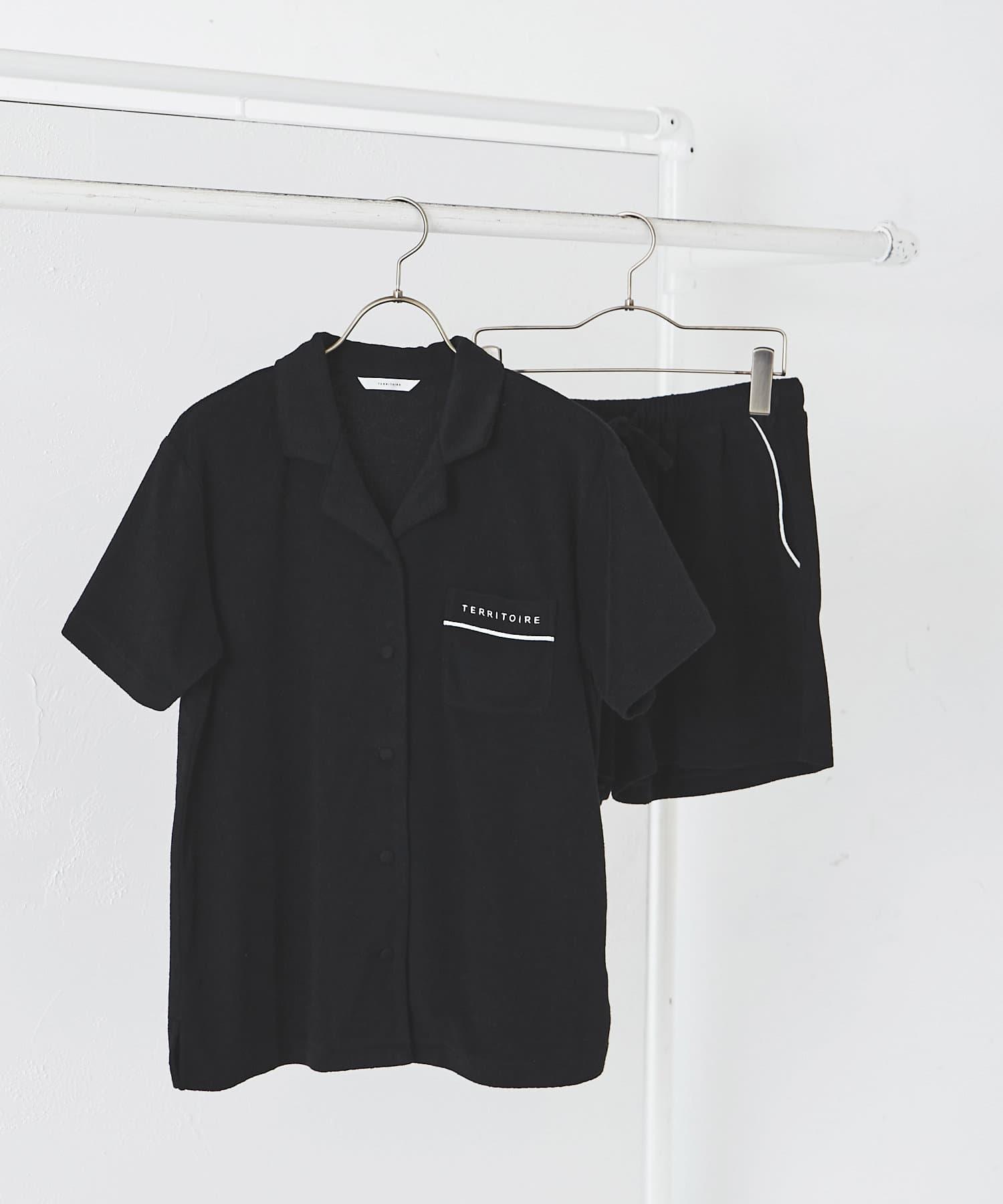 TERRITOIRE(テリトワール) コットンパイルパジャマ 上下セット