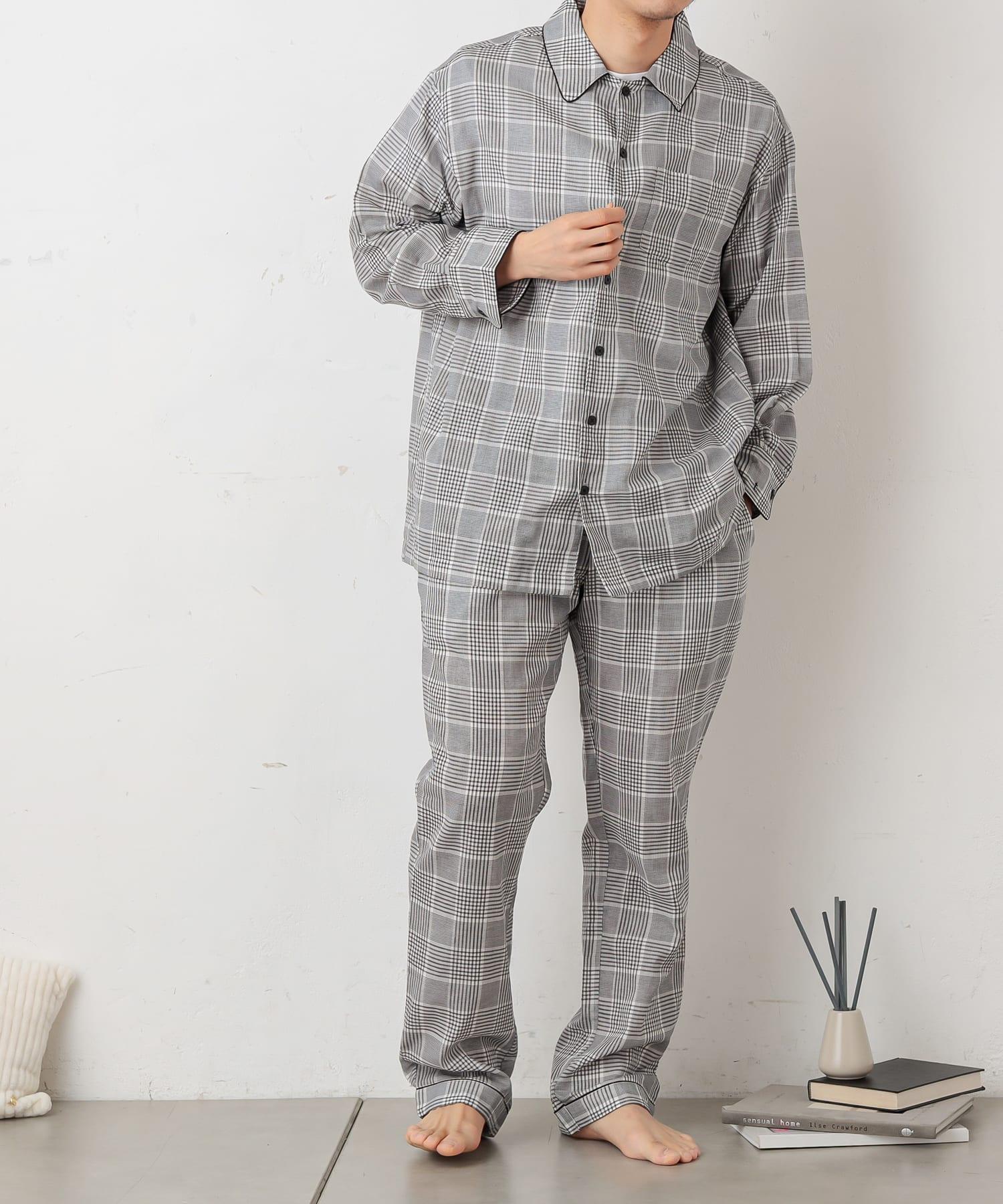 TERRITOIRE(テリトワール) MENS軽やかライトガーゼパジャマ 上下セット
