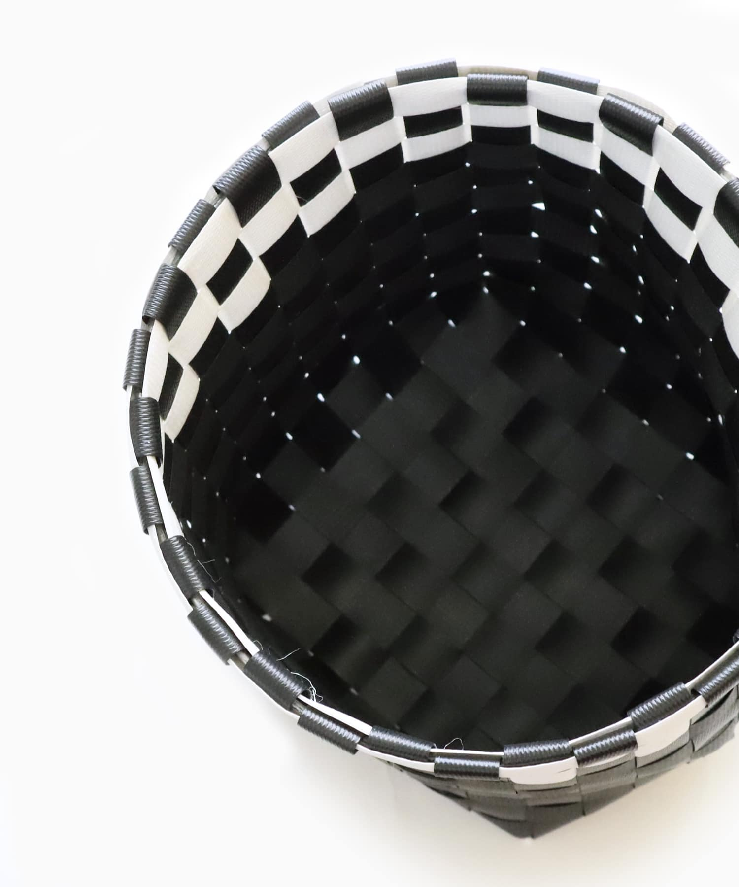 ASOKO(アソコ) 編み込みバスケット