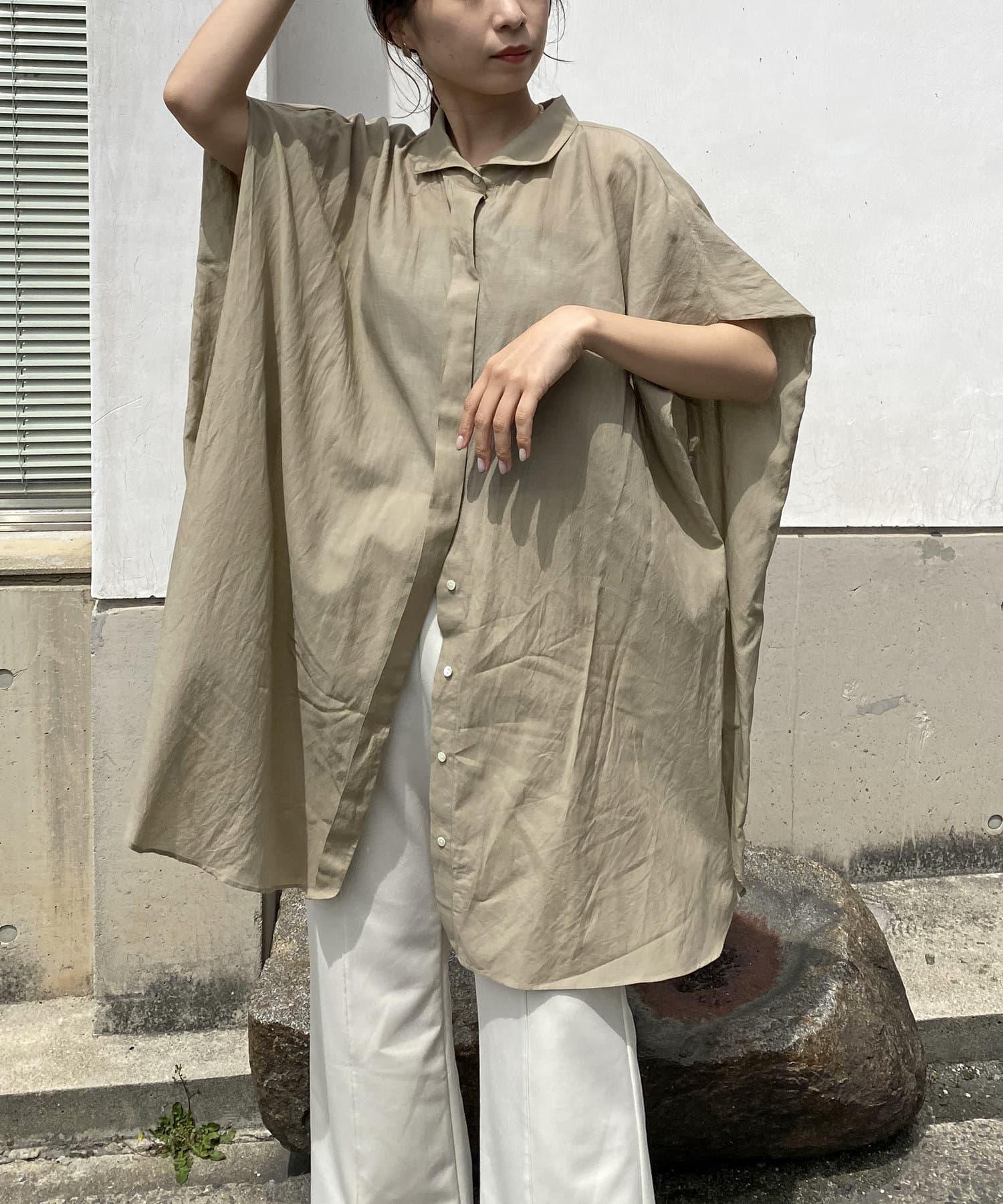 CAPRICIEUX LE'MAGE(カプリシュレマージュ) BOXスリーブシャツ