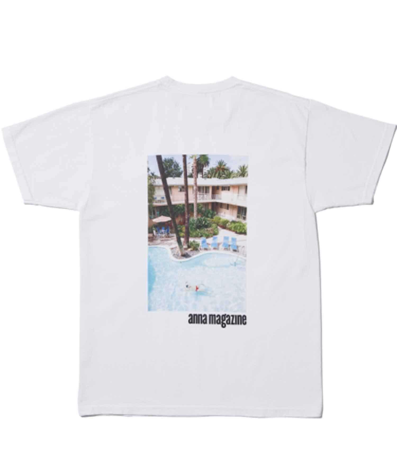 TERRITOIRE(テリトワール) 【FRUIT OF THE LOOM】ANNAMAGAZINW Tシャツ