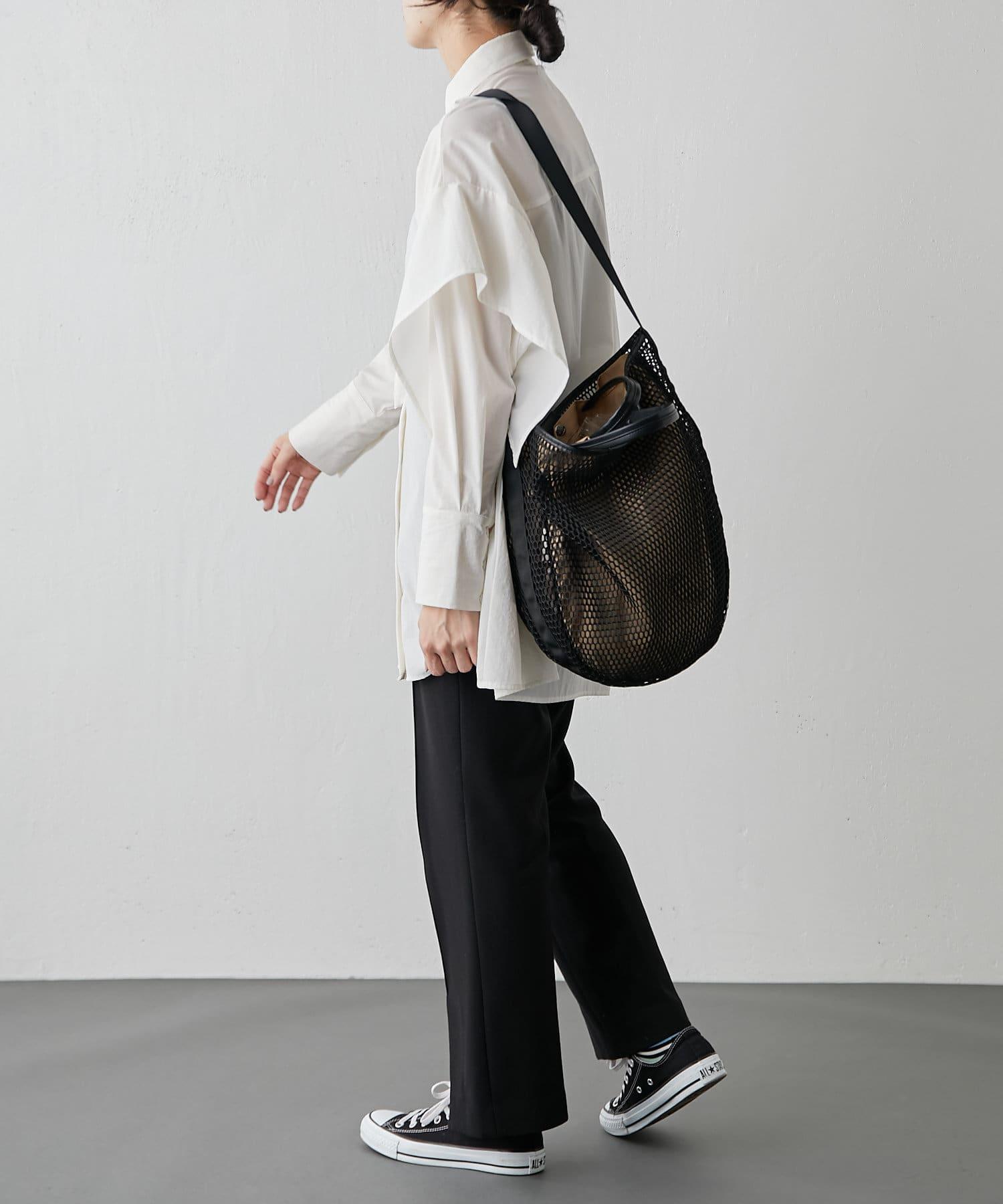 ear PAPILLONNER(イア パピヨネ) 【追加販売】メッシュライトショルダー&トートバッグ