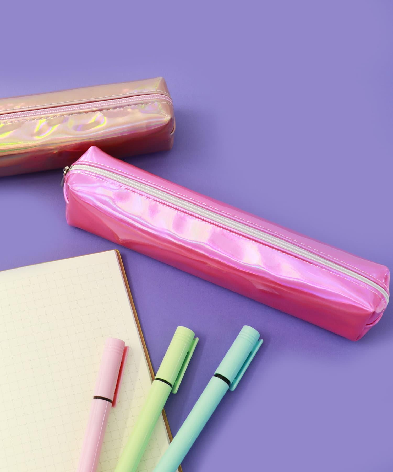ASOKO(アソコ) ライフスタイル メタリックペンケース ピンク