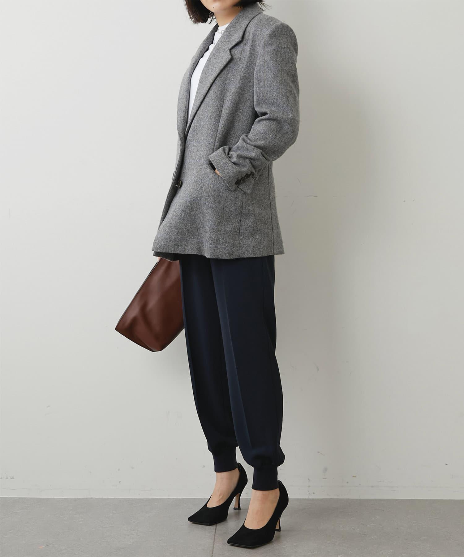 Whim Gazette(ウィム ガゼット) 裾リブパンツ