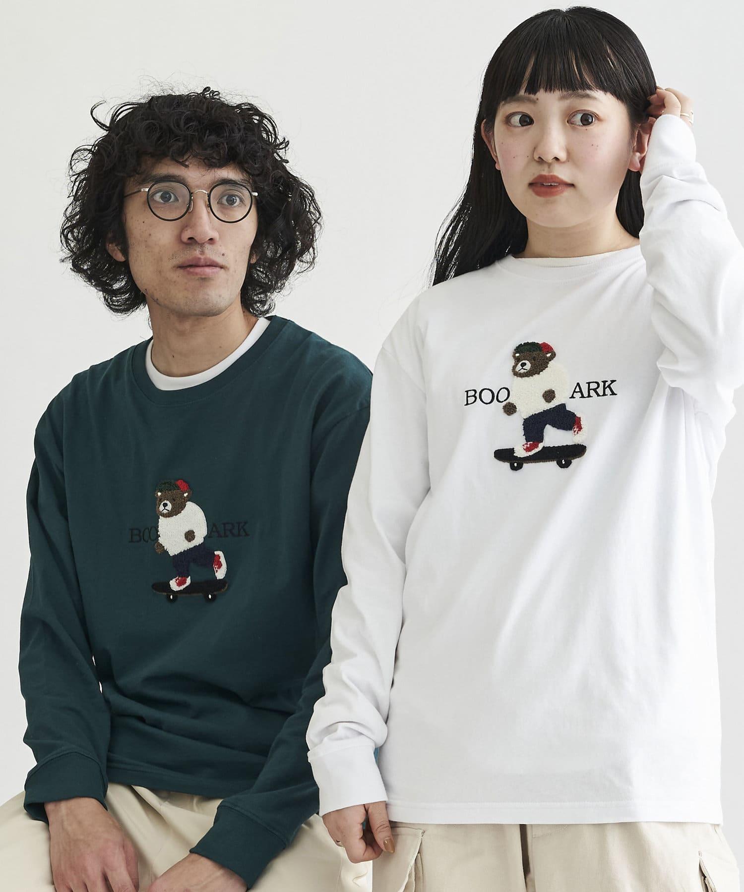 CPCM(シーピーシーエム) 【ユニセックスでおすすめ】サガラ刺繍 ロンT