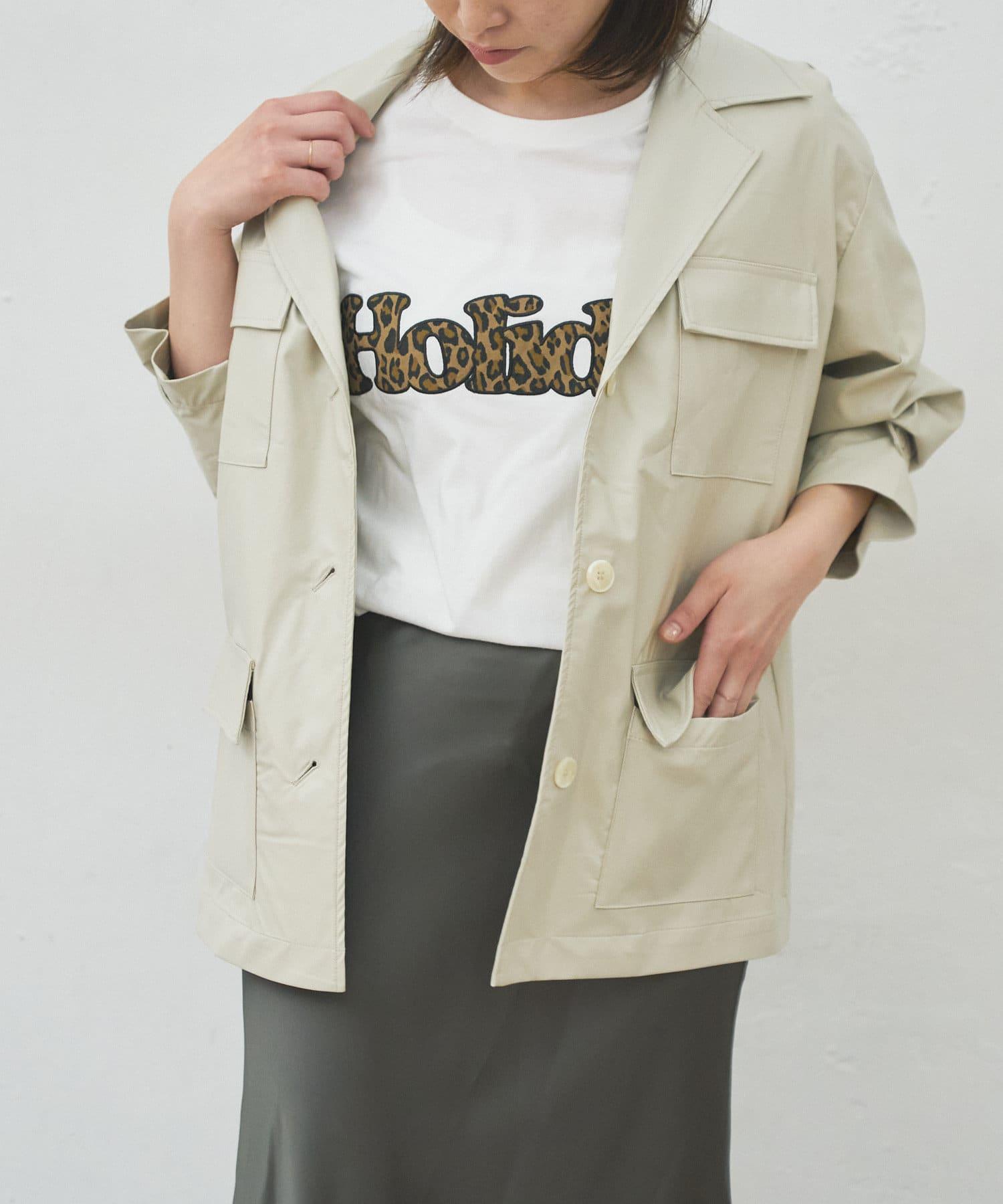 BONbazaar(ボンバザール) ※10%OFFクーポン対象《WEB限定》エコレザーシャツジャケット