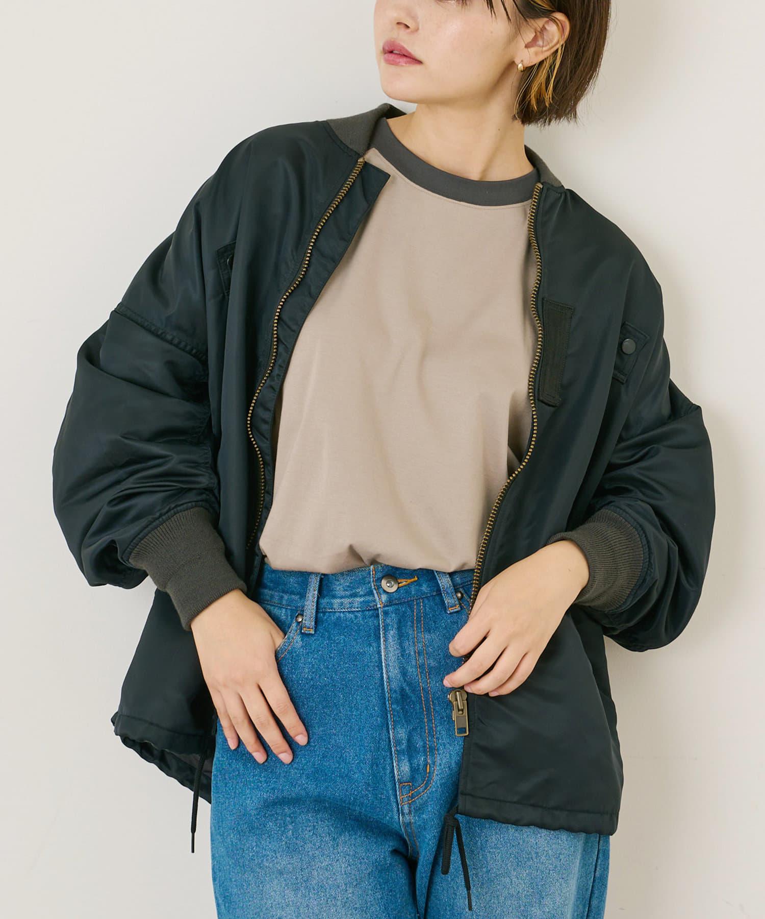 COLLAGE GALLARDAGALANTE(コラージュ ガリャルダガランテ) 【VOTE MAKE NEW CLOTHES】MA-1 コーチジャケット