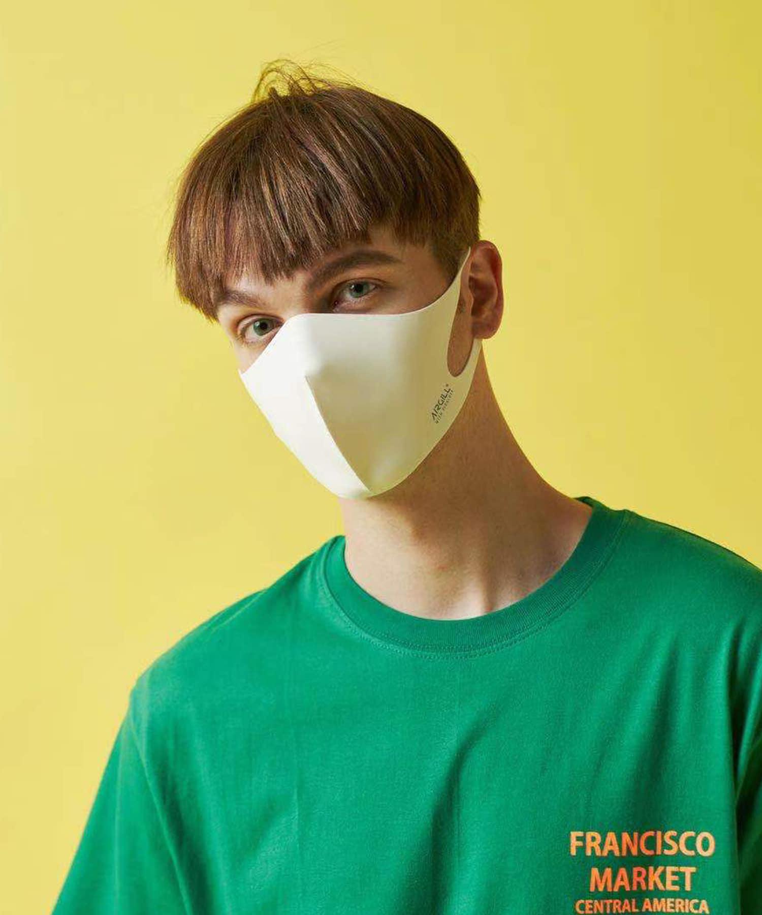 Daily russet(デイリー ラシット) レディース 【抗ウイルス・撥水・消臭・口臭予防】AIR GILLマスク ホワイトその他2