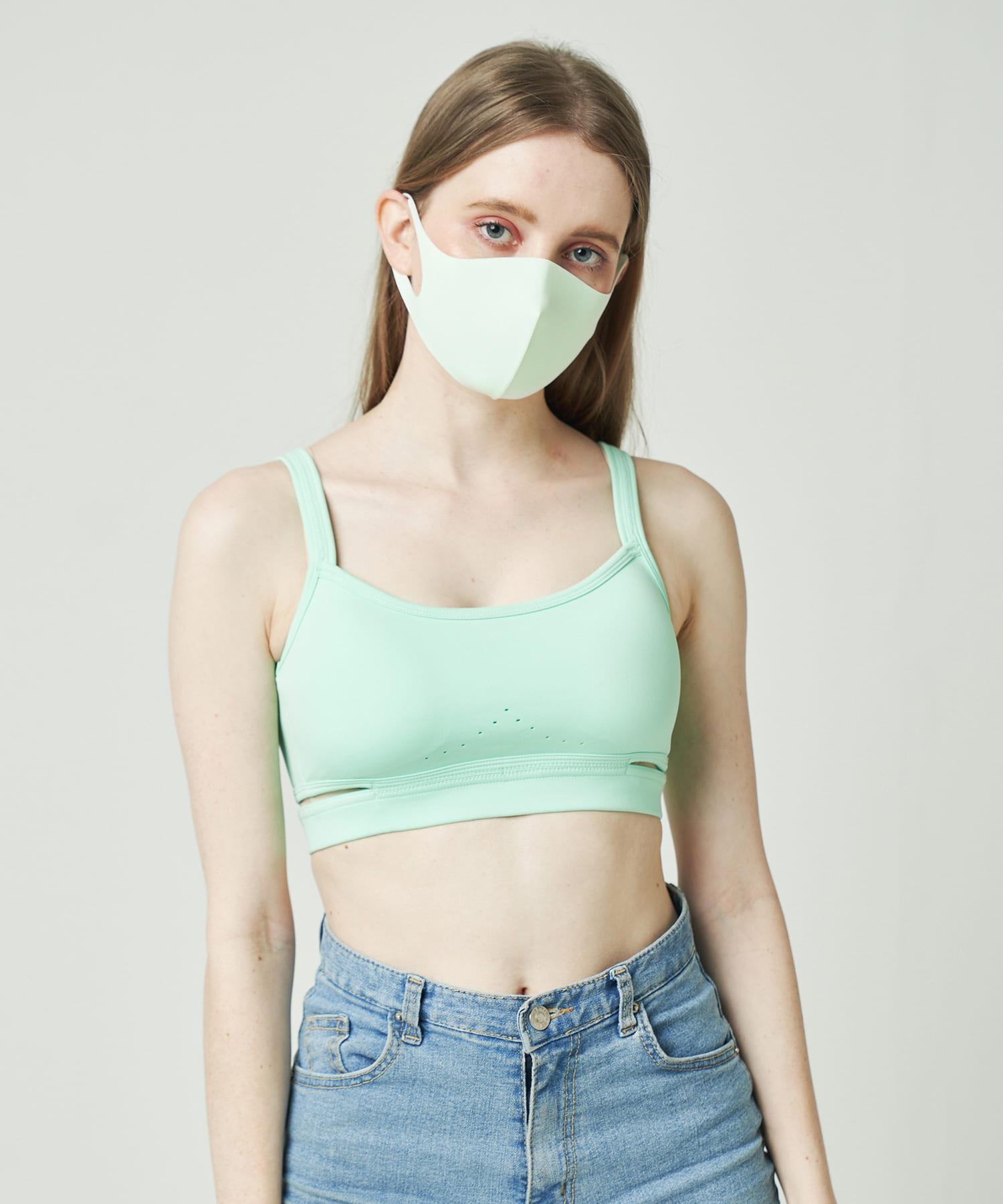 Daily russet(デイリー ラシット) レディース 【抗ウイルス・撥水・消臭・口臭予防】AIR GILLマスク ミント