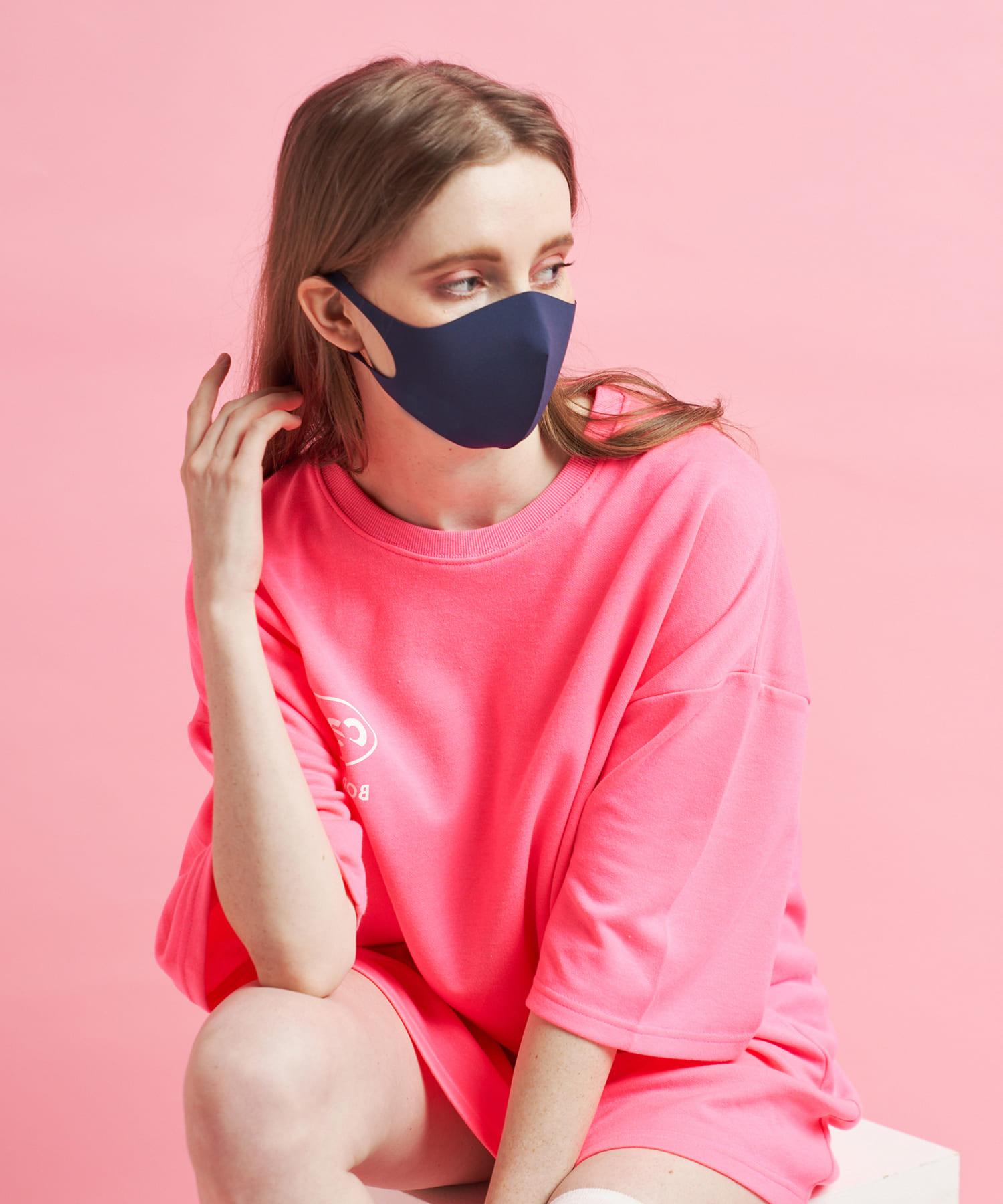 Daily russet(デイリー ラシット) レディース 【抗ウイルス・撥水・消臭・口臭予防】AIR GILLマスク ネイビー