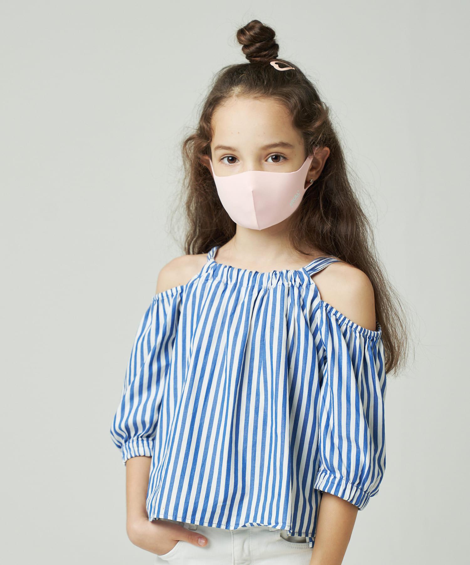 Daily russet(デイリー ラシット) レディース 【抗ウイルス・撥水・消臭・口臭予防】AIR GILLマスク ピンク