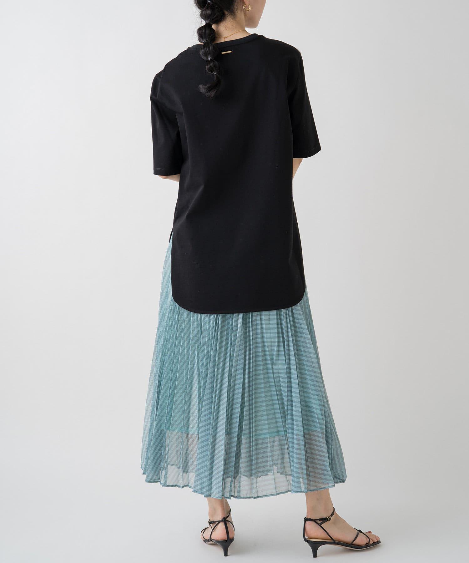 Loungedress(ラウンジドレス) ラウンドTシャツ