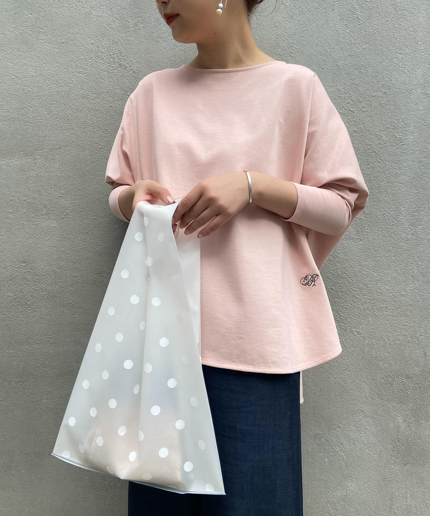 BEARDSLEY(ビアズリー) 《ピンクの追加予約決定!》裾刺繍カットソー