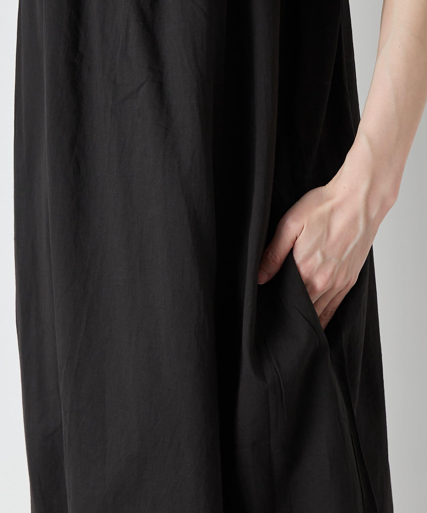 La boutique BonBon(ラブティックボンボン) 【手洗い可】コットンギャザードレス