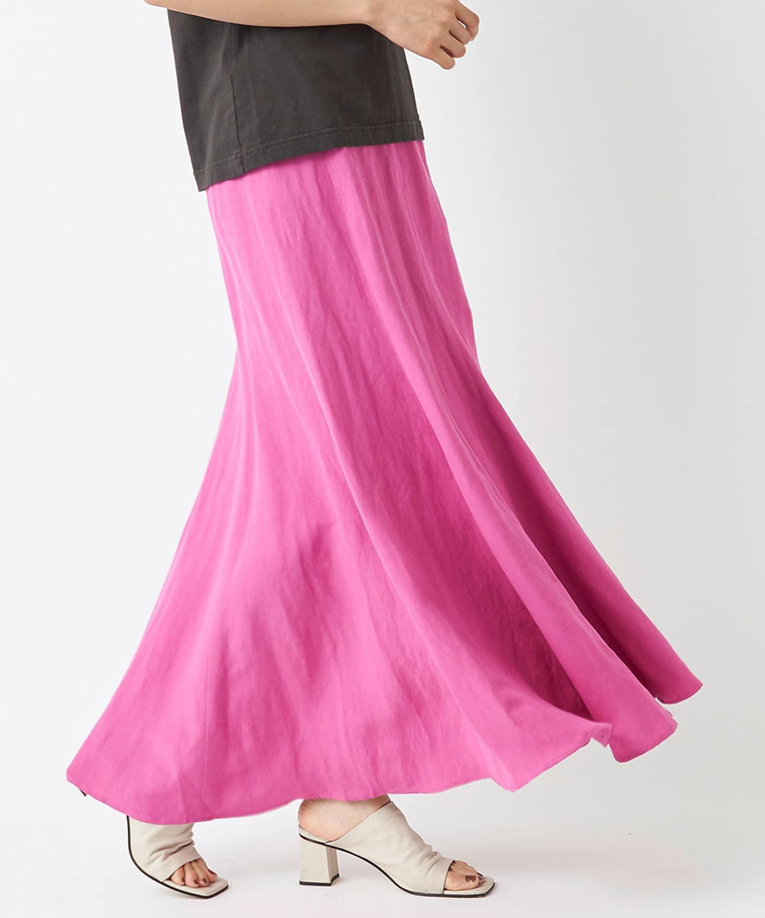 La boutique BonBon(ラブティックボンボン) 【手洗い可】マーメイドマキシスカート