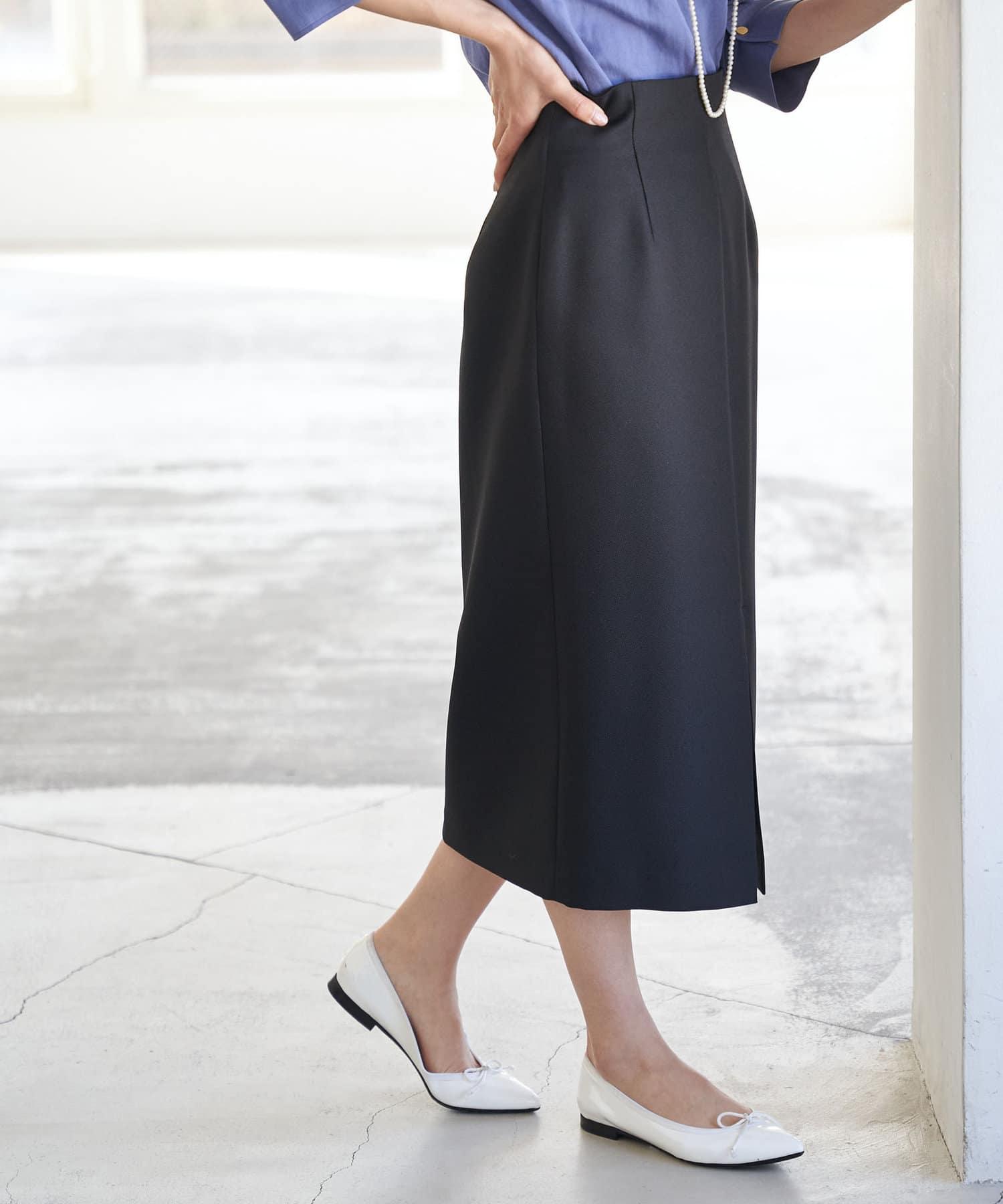 La boutique BonBon(ラブティックボンボン) 【手洗い可・名品】サステナブルナロースカート