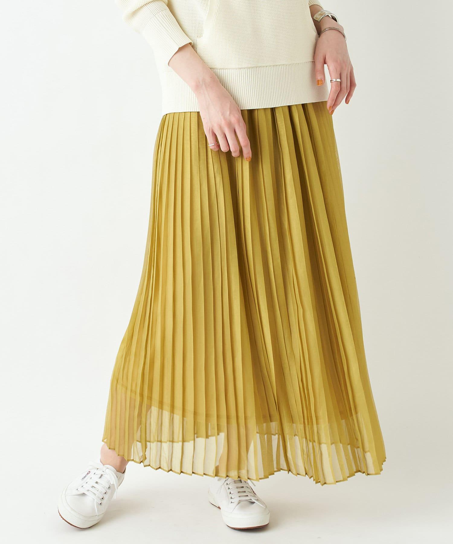 un dix cors(アンディコール) ここでしか手に入らない!【WEB限定】ラメマキシプリーツスカート