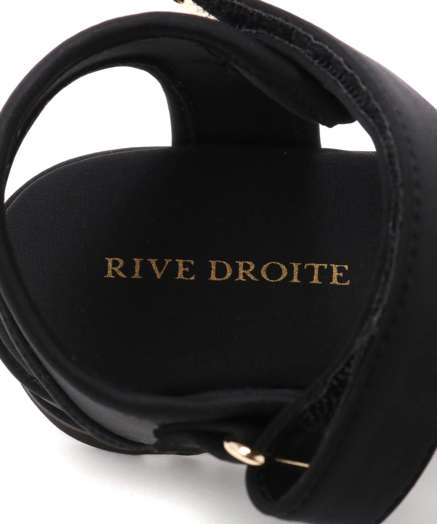 RIVE DROITE(リヴドロワ) 【安定感のある履き心地】ベルクロスポーツサンダル