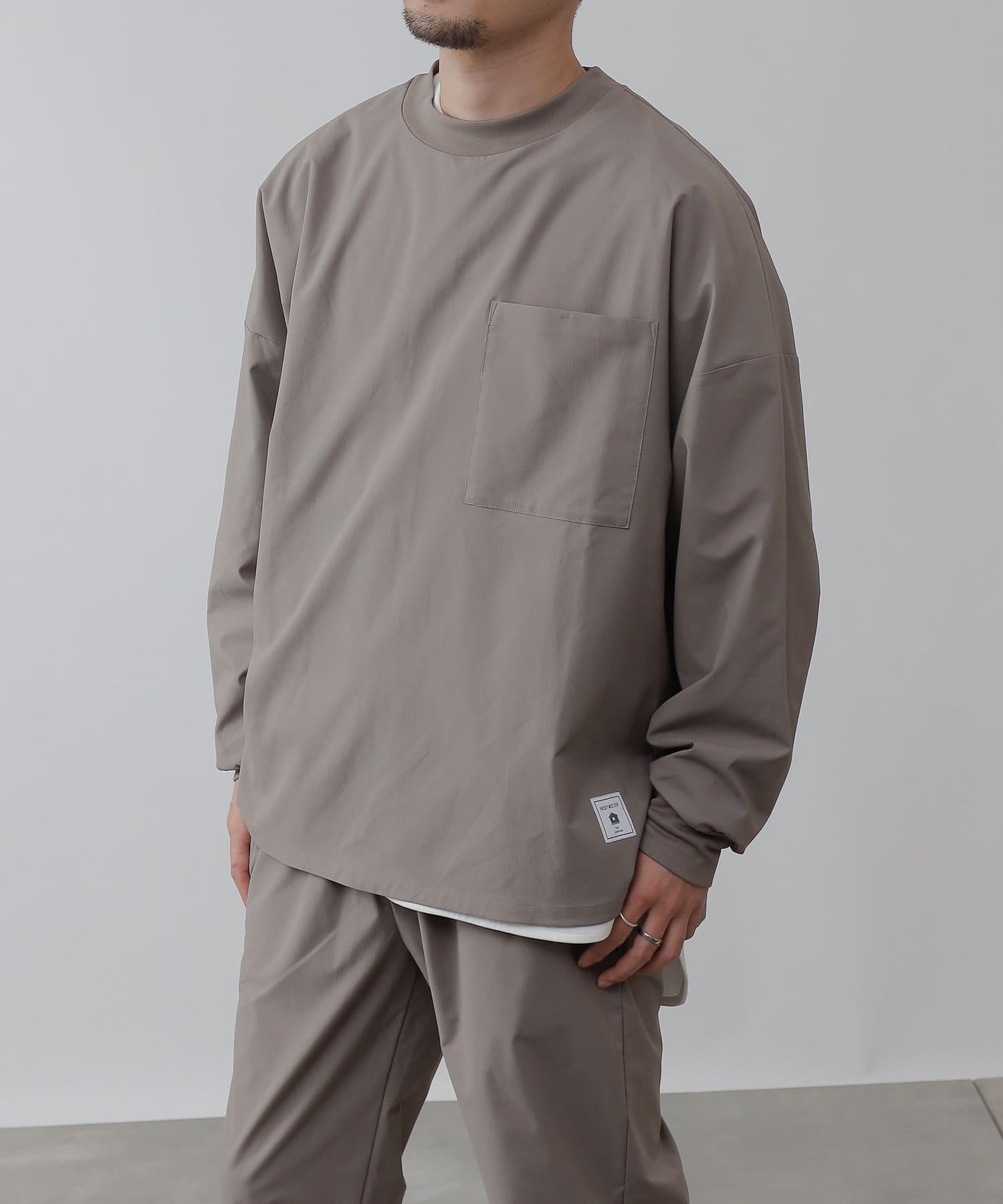 COLONY 2139(コロニー トゥーワンスリーナイン) NESTマルチストレッチ長袖Tシャツ/ロンT(セットアップ可)
