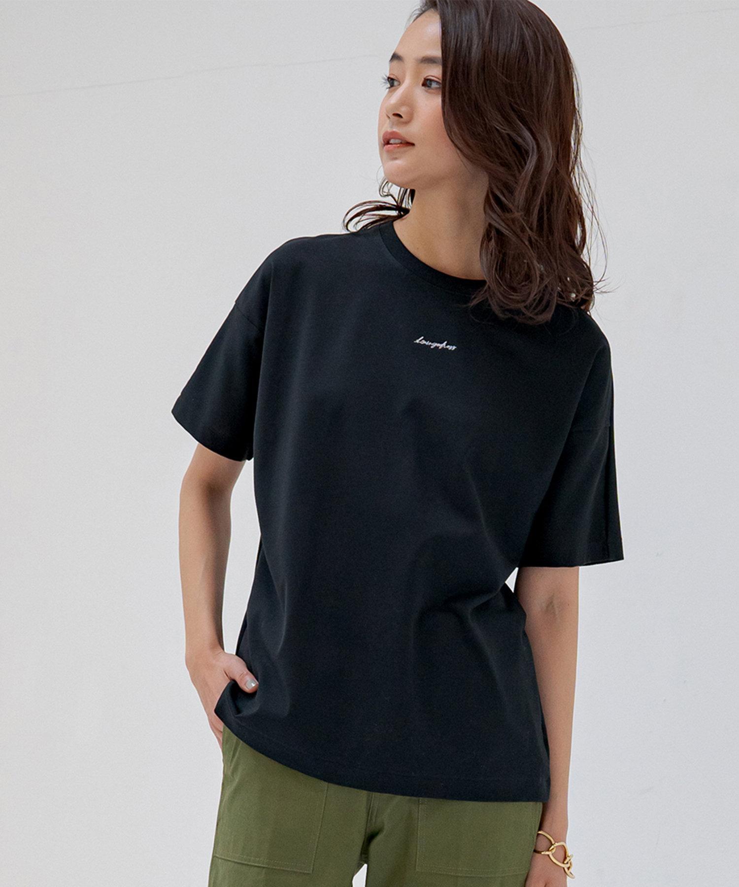 Loungedress(ラウンジドレス) エンブロイダリーTシャツ