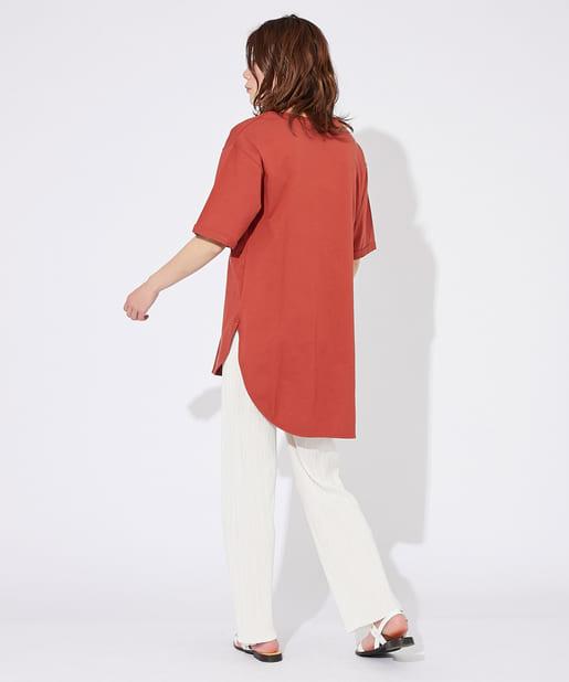 OUTLET premium(アウトレット プレミアム) 【手洗い可】US天竺タックTシャツ