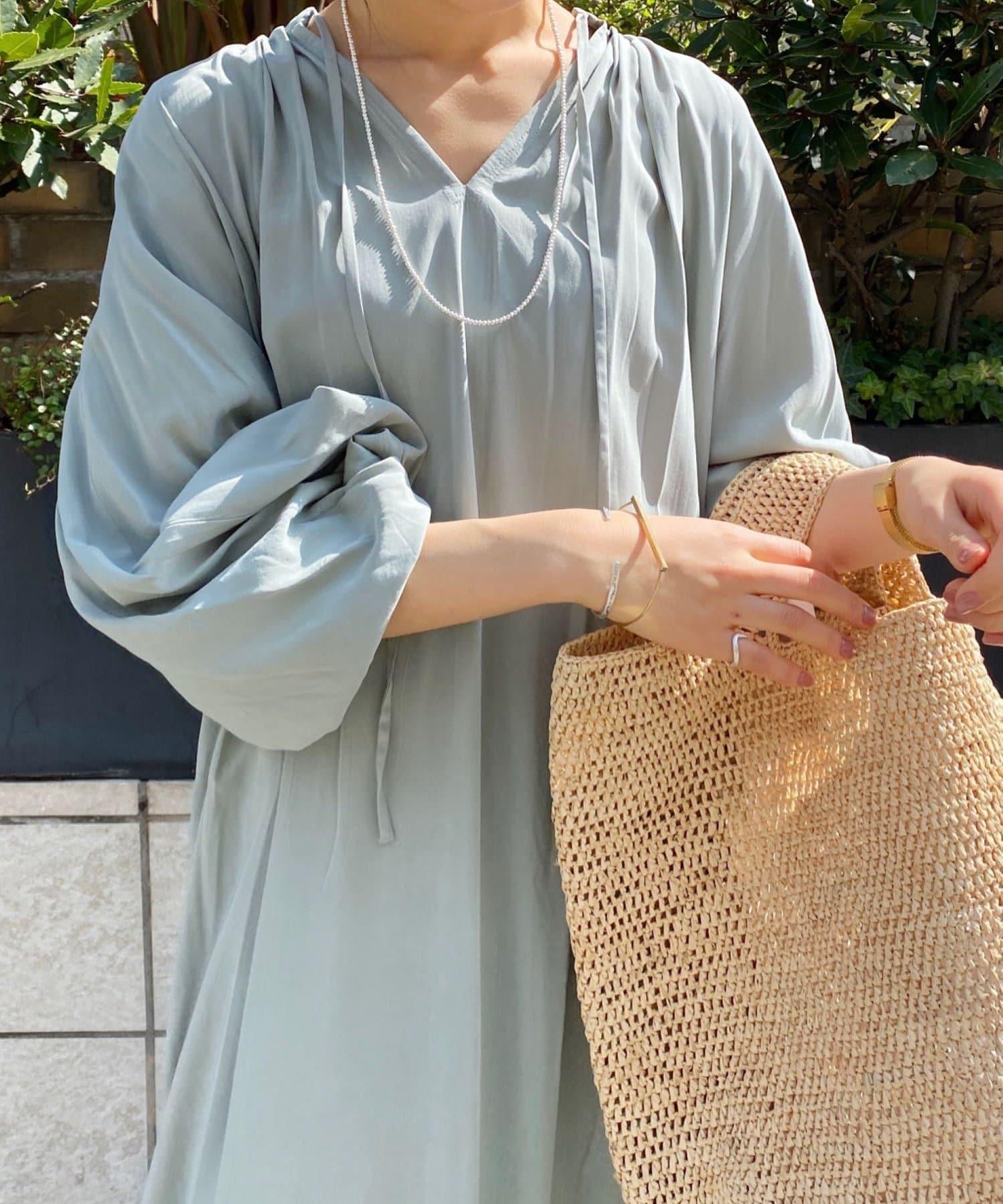 SHENERY(シーナリー) 袖ボリュームワンピース