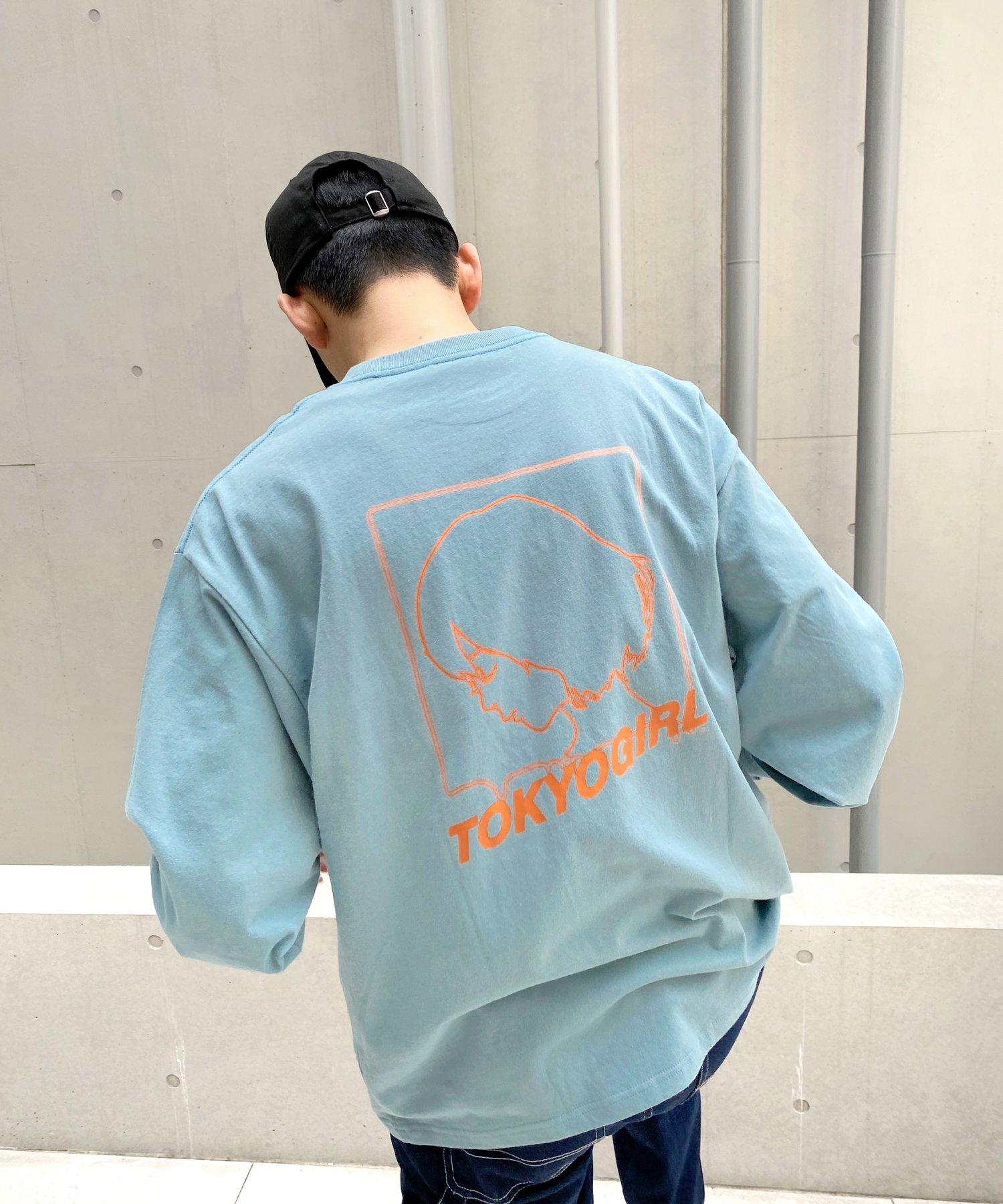 WHO'S WHO gallery(フーズフーギャラリー) レディース 《WEB限定》東京ガール ベーシックロンT グリーン