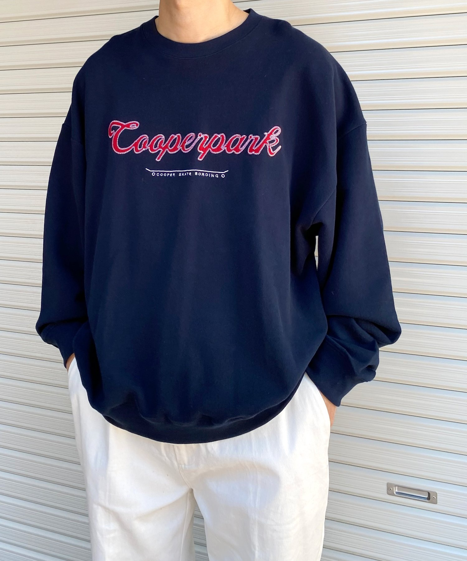 WHO'S WHO gallery(フーズフーギャラリー) COOPERPARK ワッペンカレッジクルー