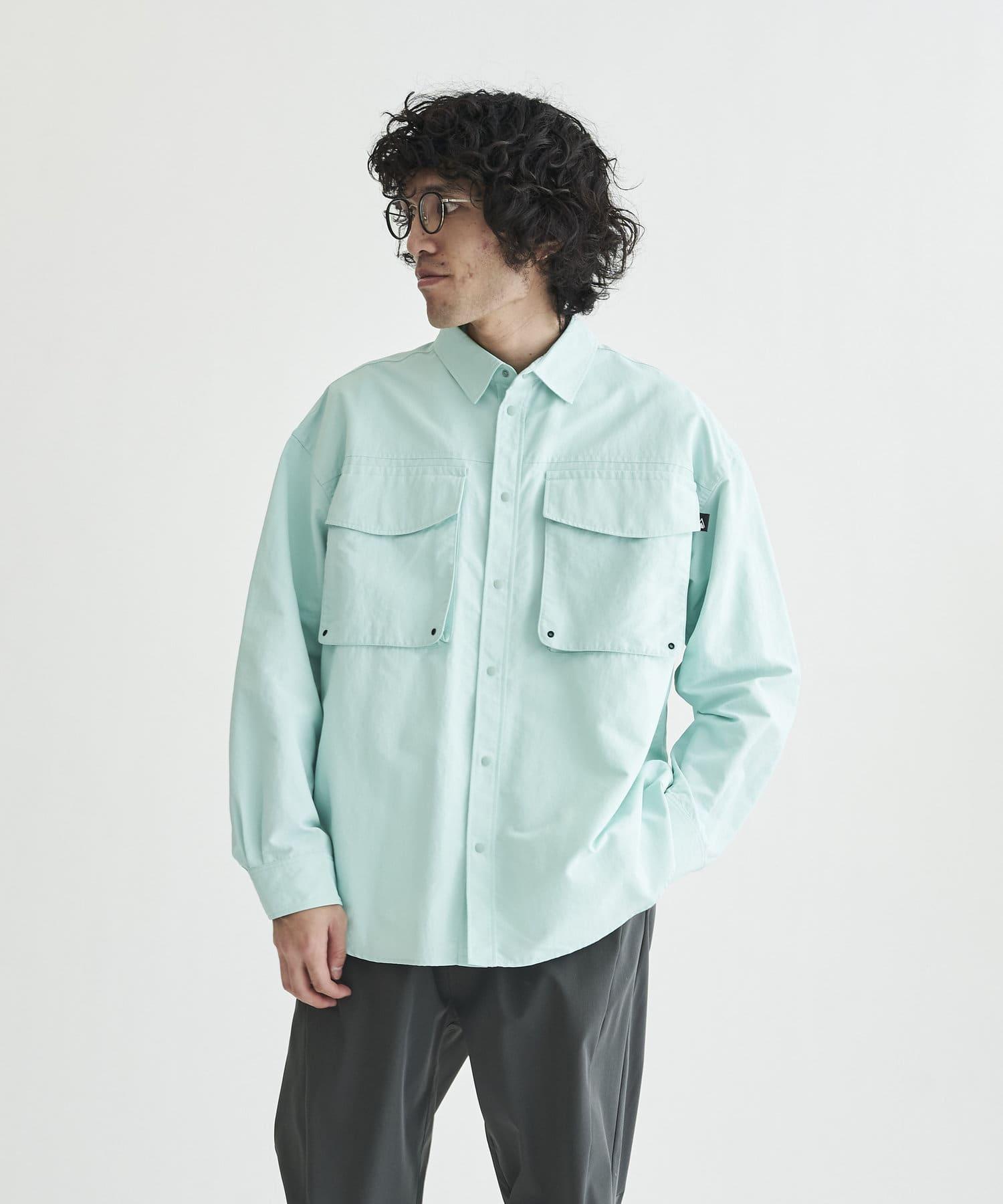 CPCM(シーピーシーエム) FIRST DOWN / ファーストダウン ベンチレーションロングスリーブシャツ