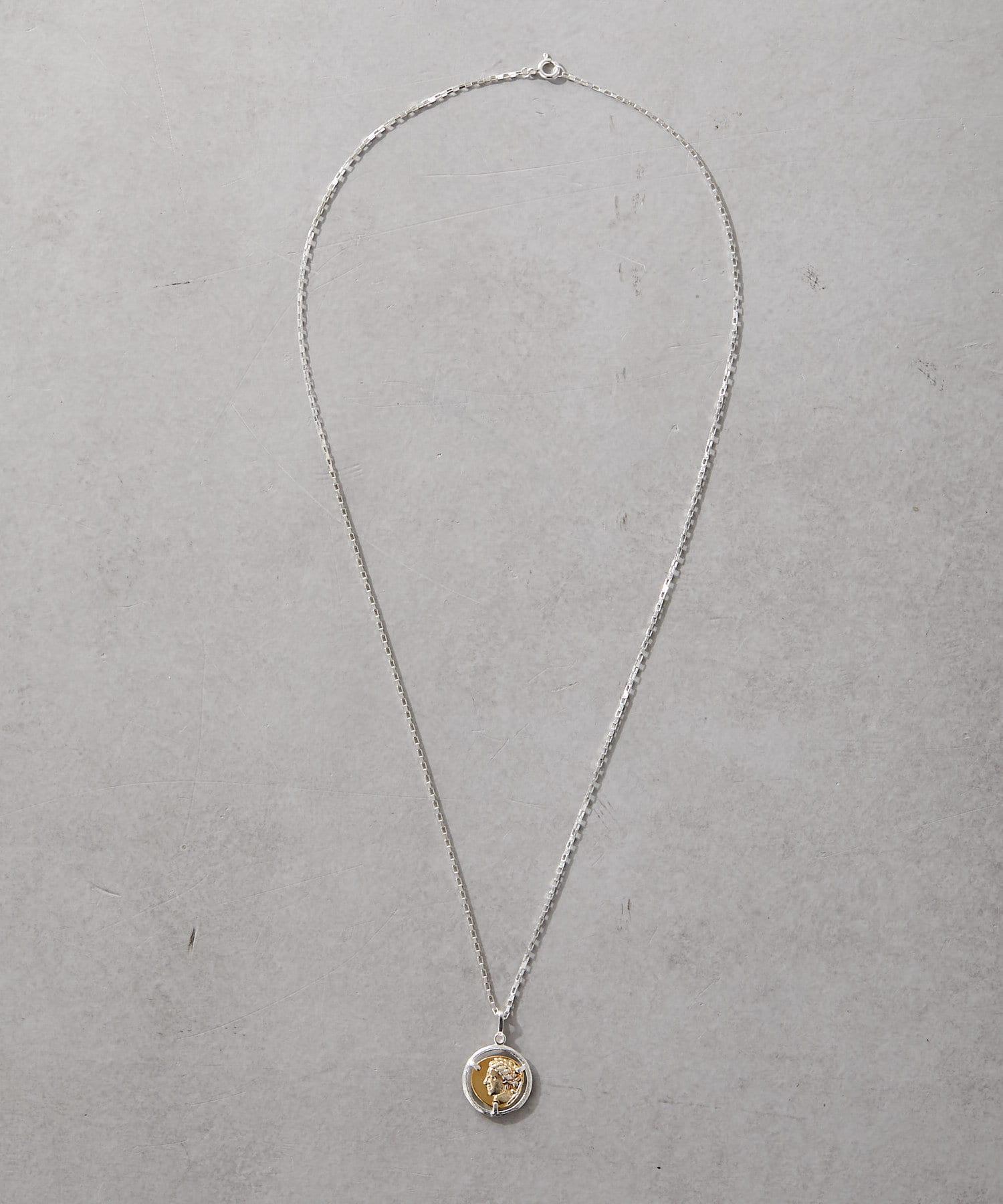ear PAPILLONNER(イア パピヨネ) (WEB限定)シルバー925アポロンネックレス