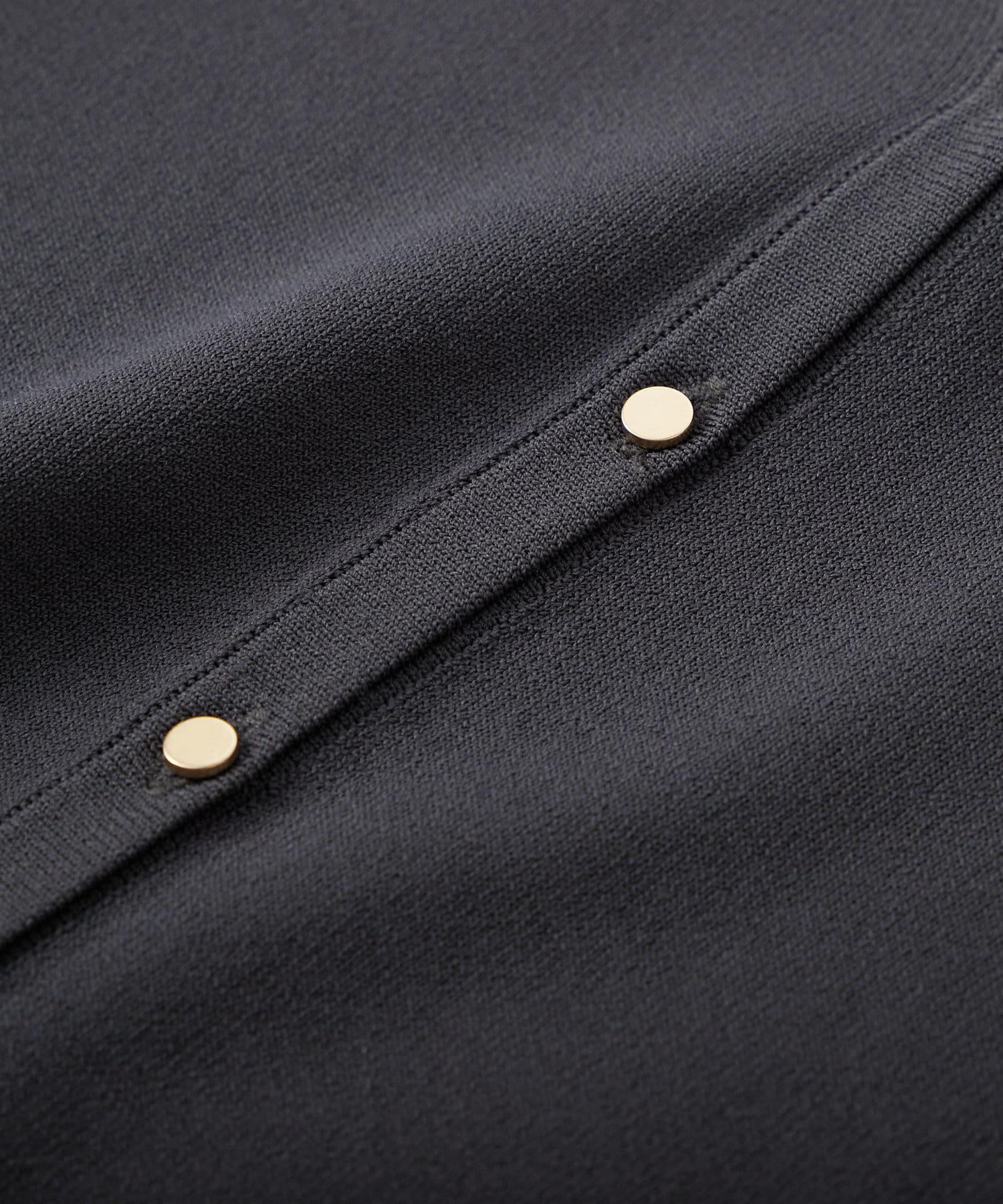 La boutique BonBon(ラブティックボンボン) 【手洗い可・接触冷感・UVカット】スキッパーカーディガン
