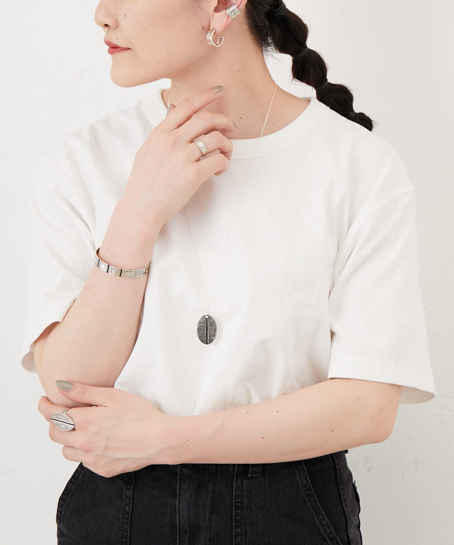 ear PAPILLONNER(イア パピヨネ) 【TUAREG SILVER(トゥアレグ)】ラインネックレス