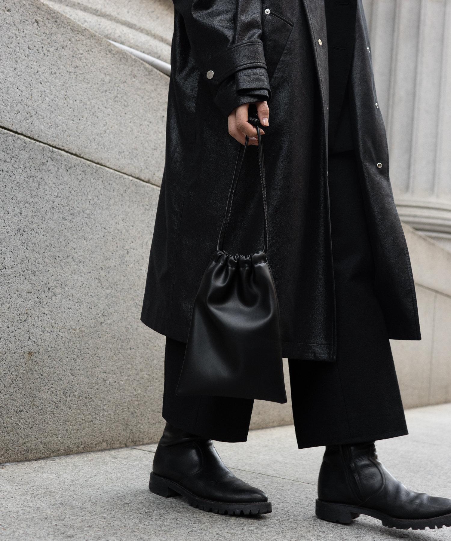 COLONY 2139(コロニー トゥーワンスリーナイン) レディース 【@sakina_yamamoto】サステナビリティレザー巾着チェーンバッグ ブラック