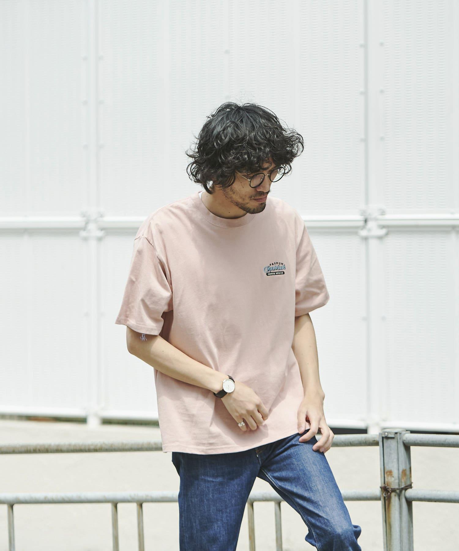 CPCM(シーピーシーエム) バック刺繍半袖T【着用動画あり】