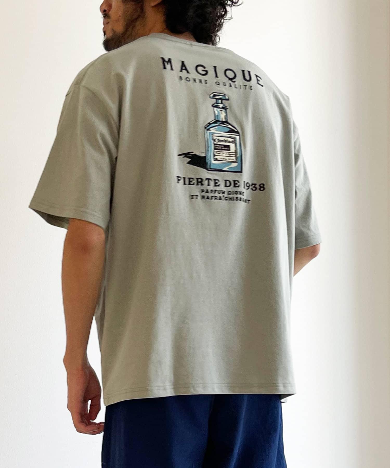 CPCM(シーピーシーエム) 【新色追加】【XLサイズ追加】バック刺繍半袖クルーネックT