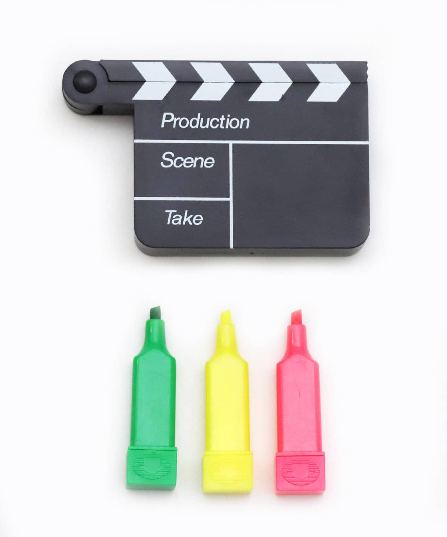 3COINS(スリーコインズ) 【ASOKO】映画蛍光ペン