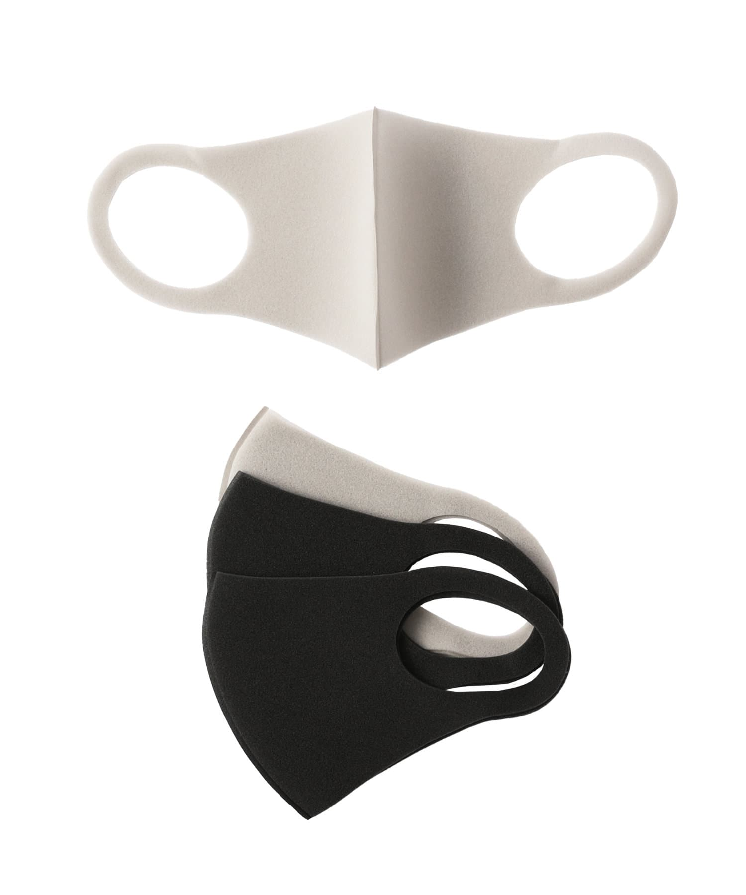 3COINS(スリーコインズ) ライフスタイル 立体ウレタンマスク4枚SET【大人小さめサイズ】 その他