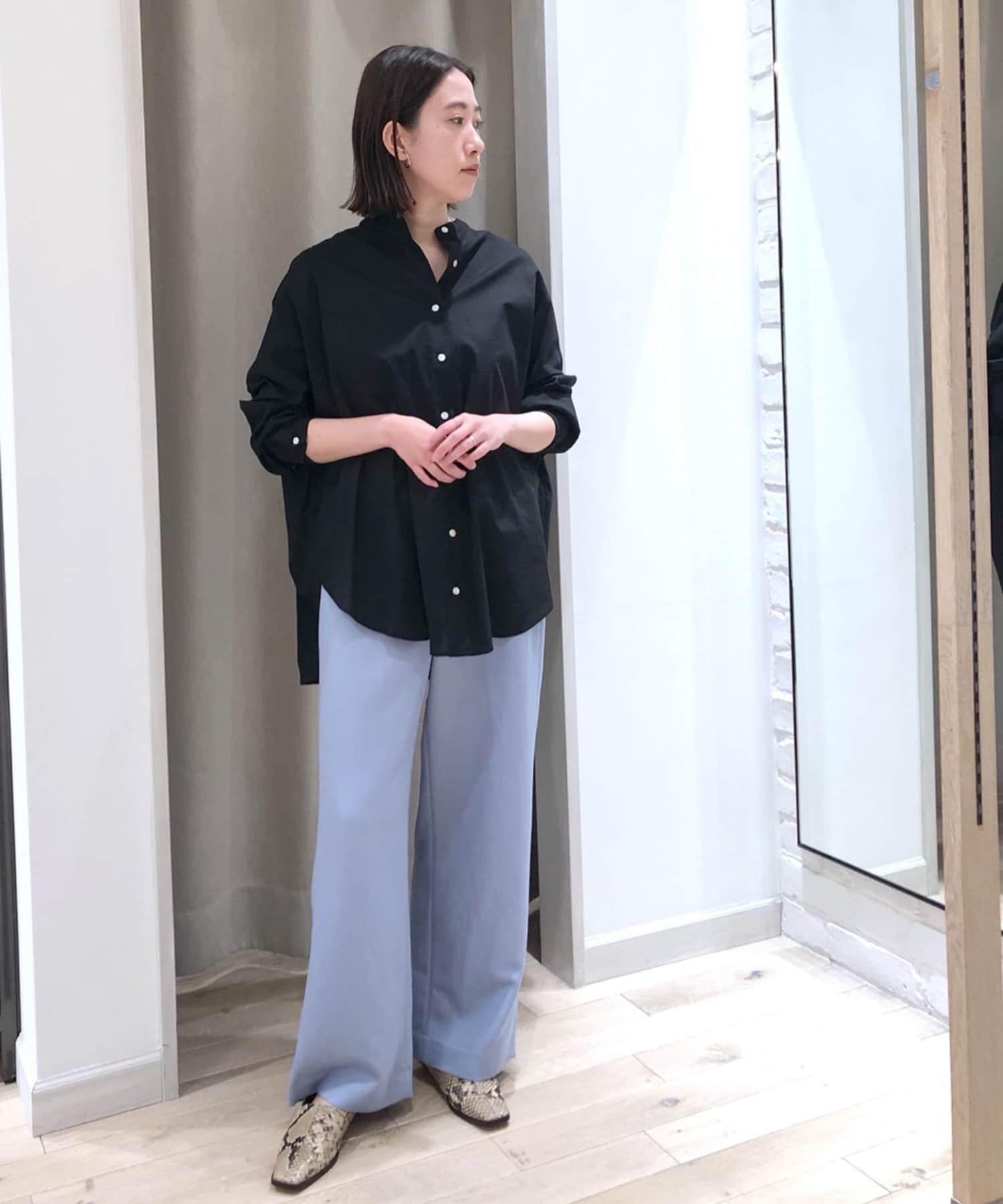 un dix cors(アンディコール) 動画付【1枚で決まる主役級アイテム】バックギャザーボイルシャツ