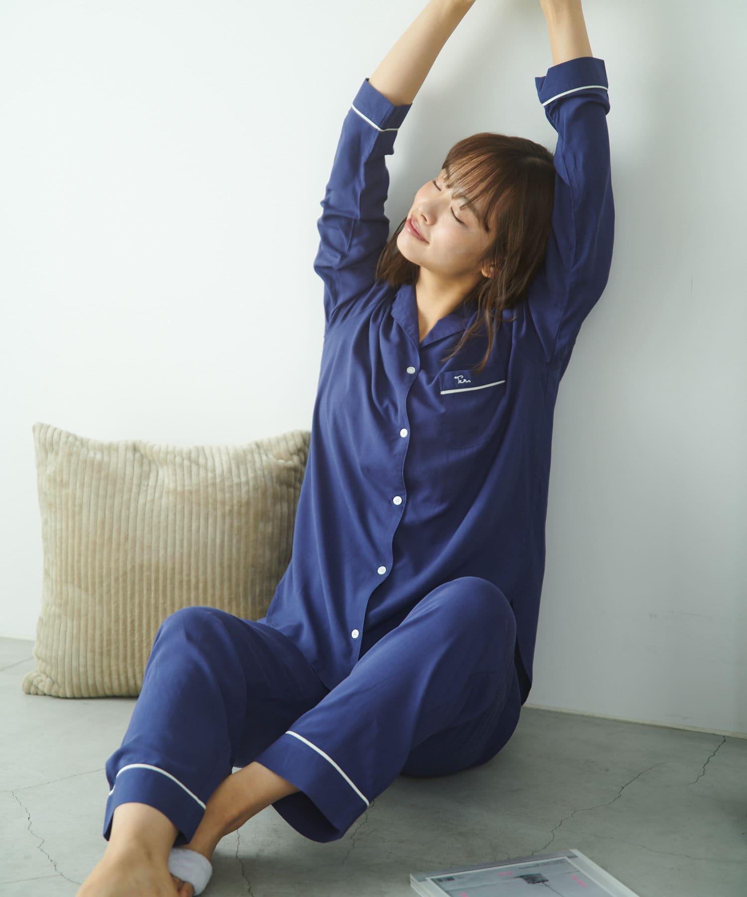 TERRITOIRE(テリトワール) 【しあわせな眠りを】LADIES快眠リラックスパジャマ 上下セット